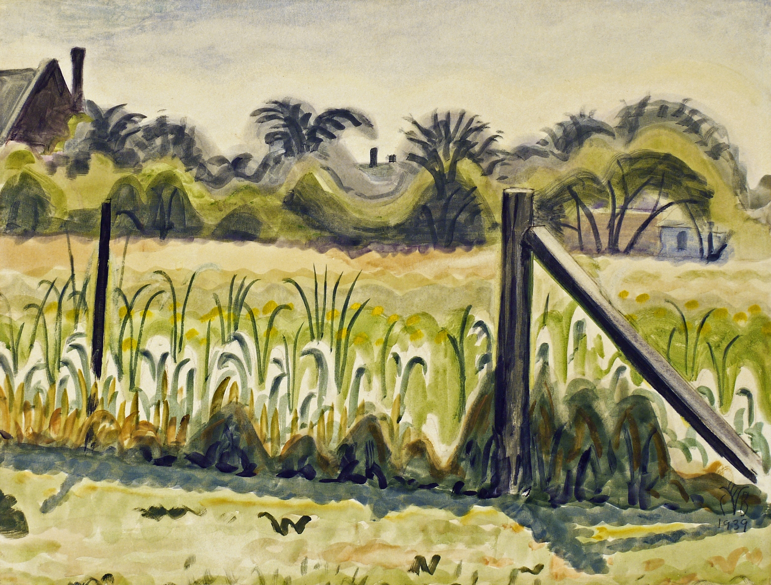 Charles Burchfield Artists Dc Moore Gallery