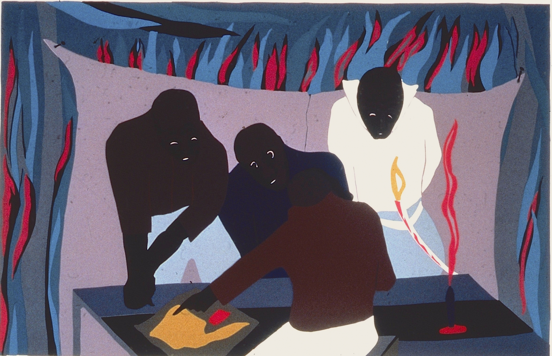 When was jacob lawrence born