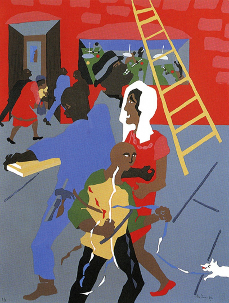 University of washington jacob lawrence gallery instagram
