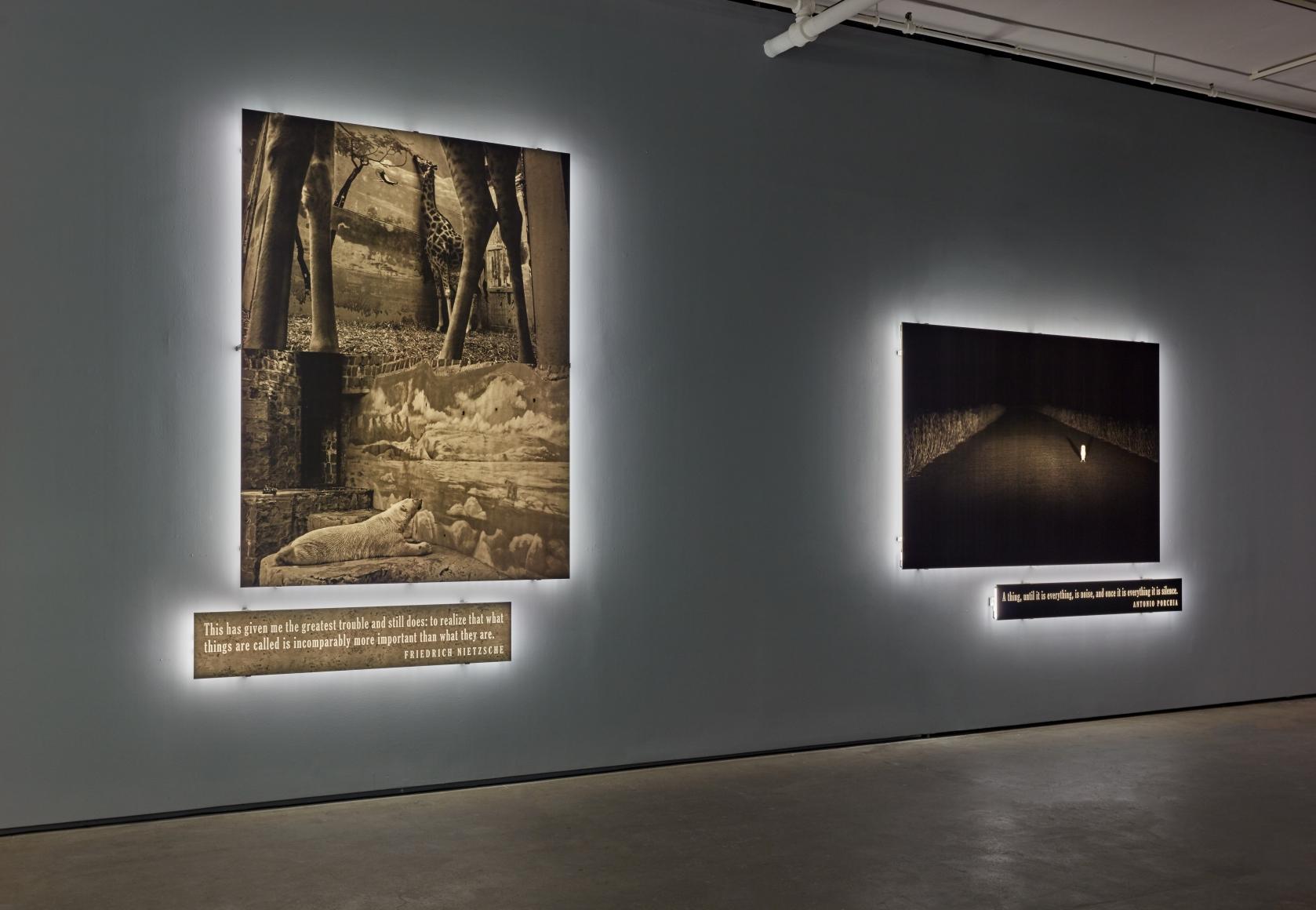 Joseph Kosuth Existential Time Xibt Contemporary Art Mag