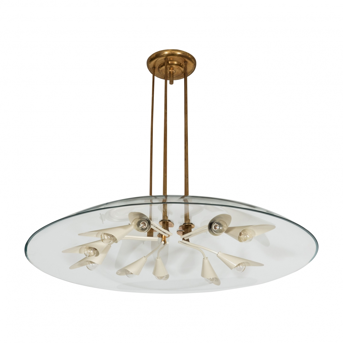 Pietro chiesa fontana arte glass and tole chandelier collections ea4108 aloadofball Choice Image