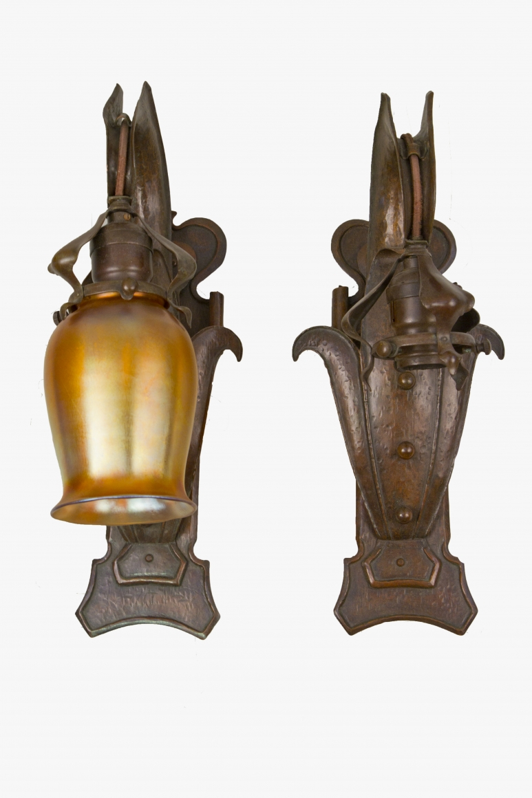Art Nouveau Sconces Lighting Ophir Gallery