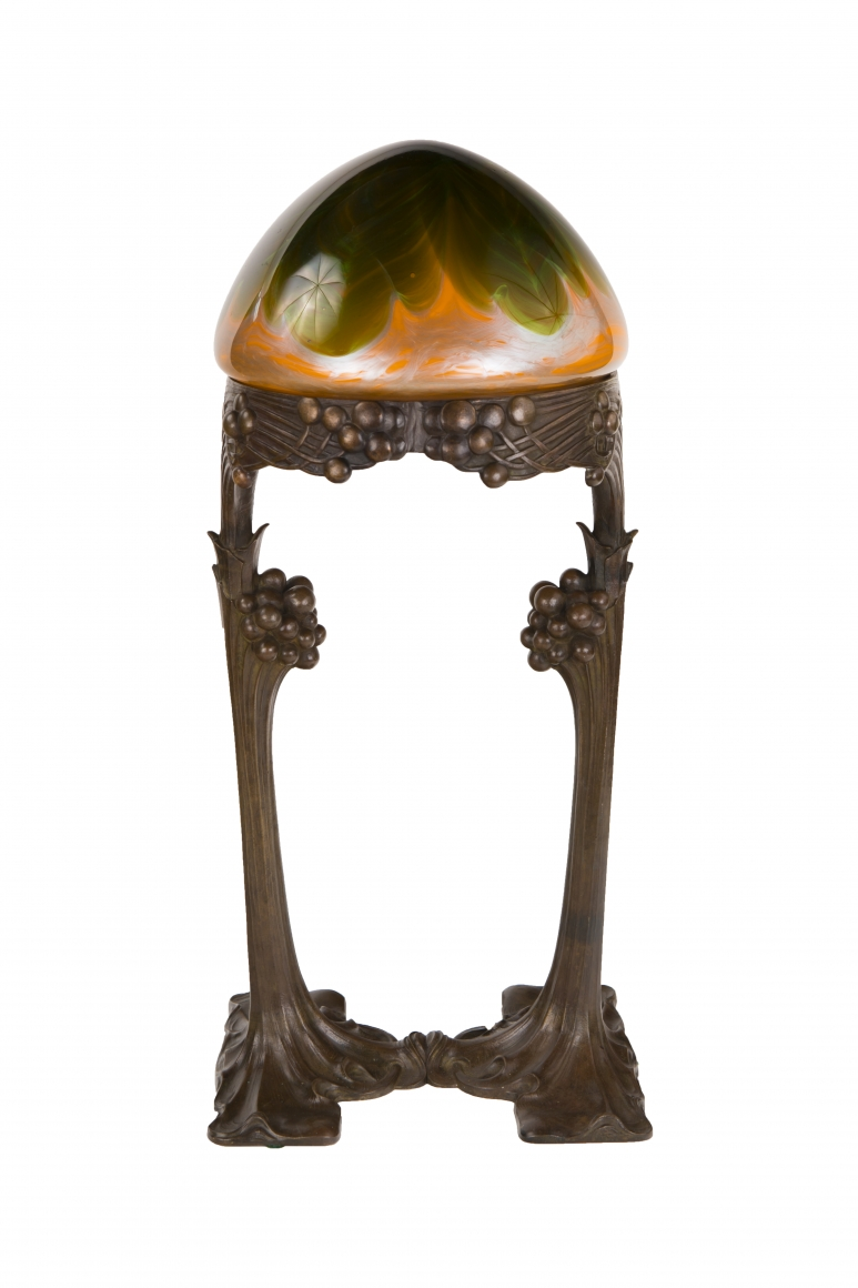 Art Nouveau Table Lamp Lighting Ophir Gallery Specializing In