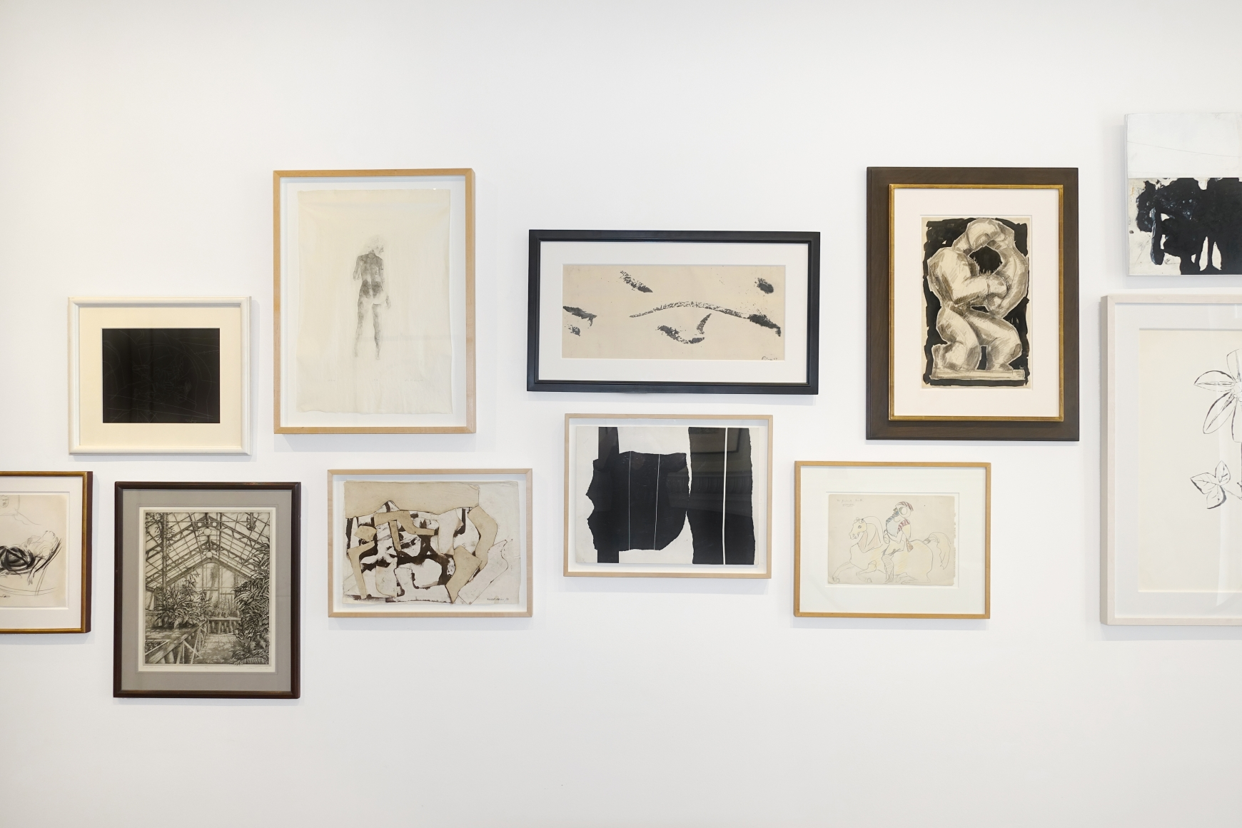in the absence of color exhibitions hollis taggart