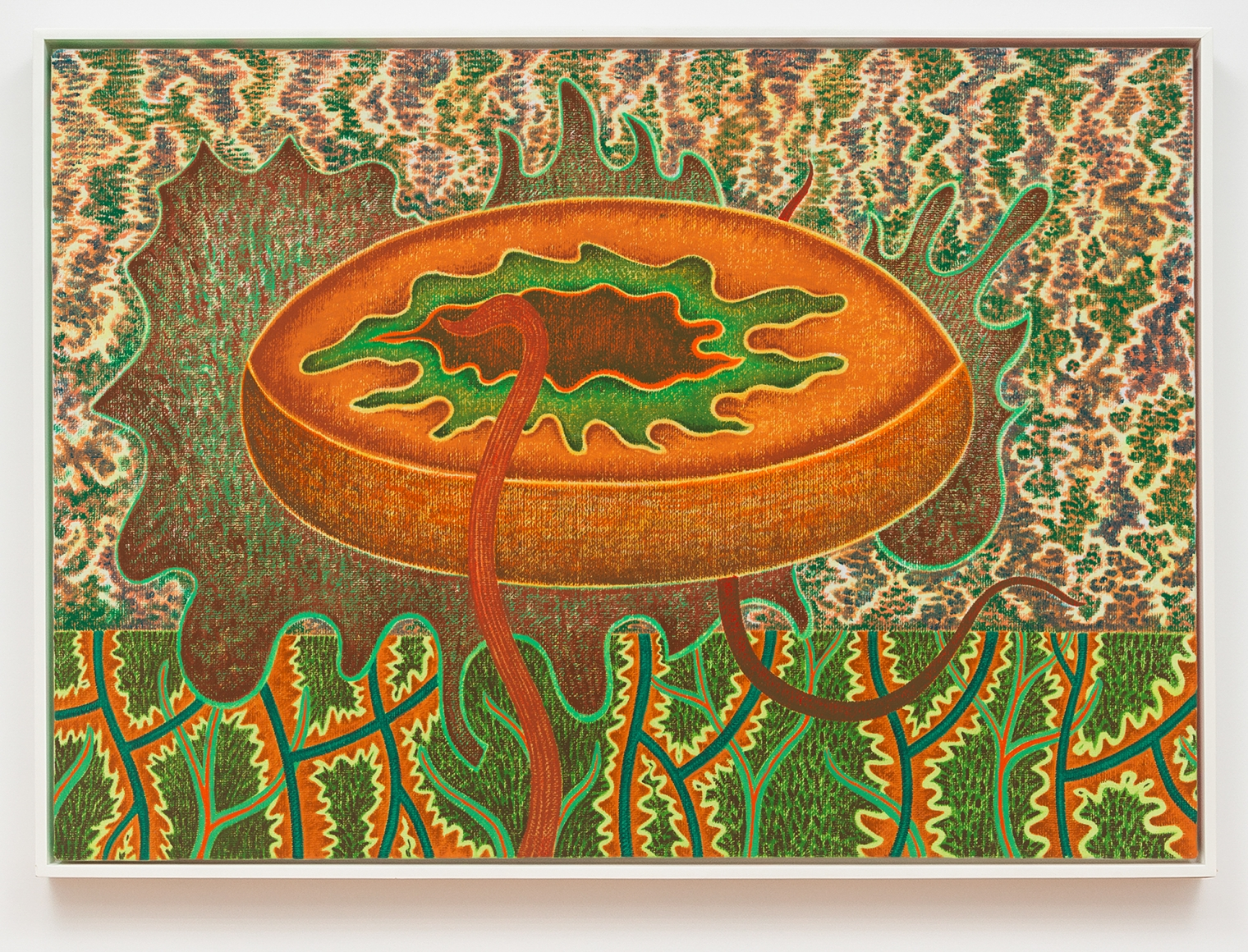 Forest Gift, 1987, Oil on canvas