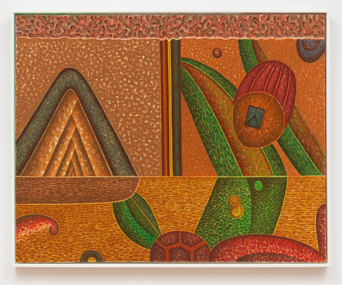 Three Memories, 1994, Oil on linen