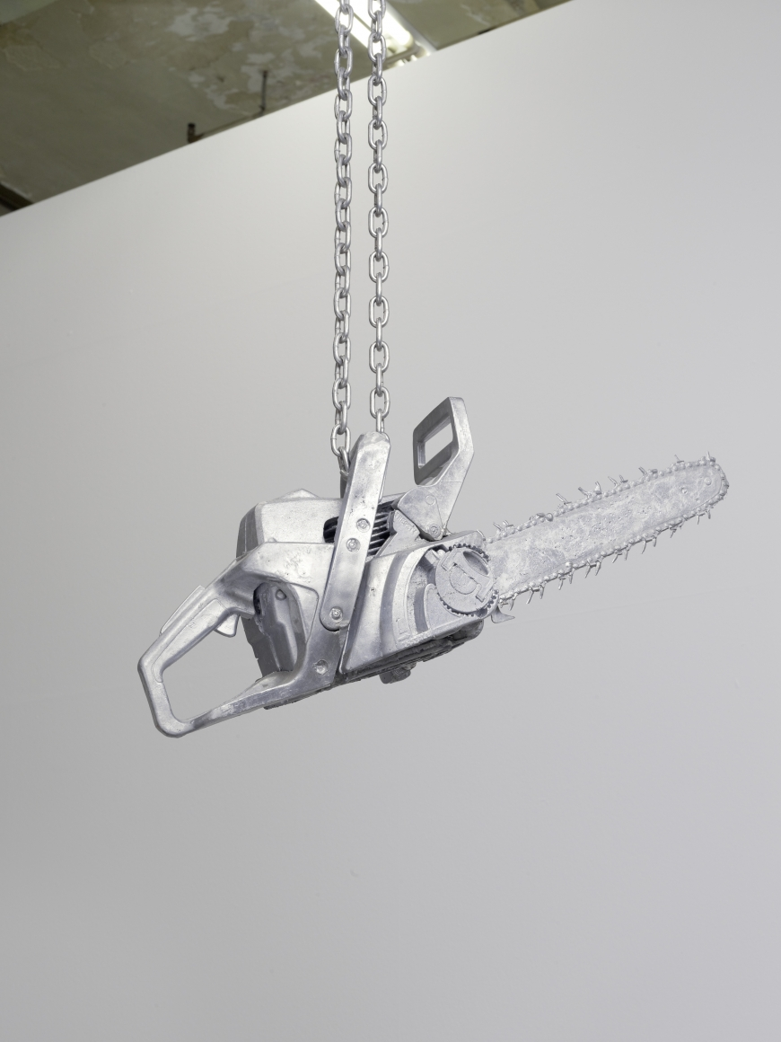 MONICA BONVICINI Alu Chainsaw 1 2012