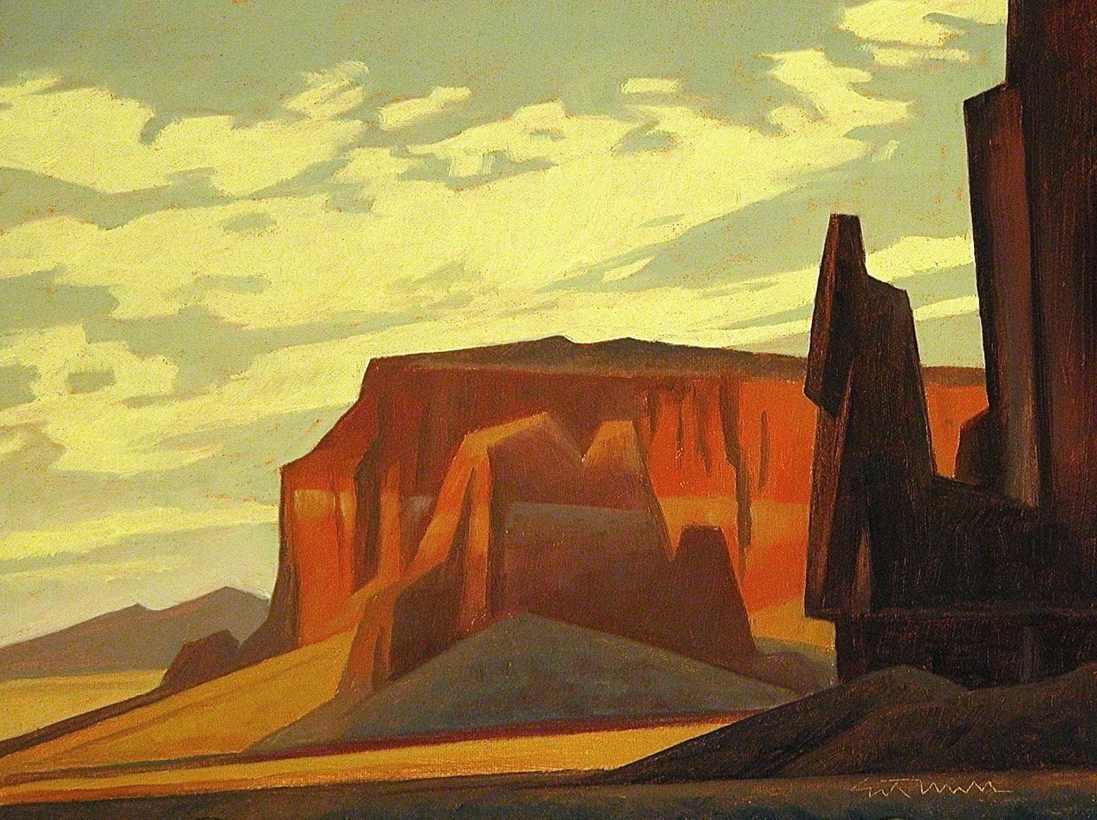 Black Desert Mesa, Ed Mell