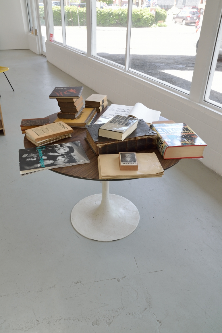 Installation View BOOKS
