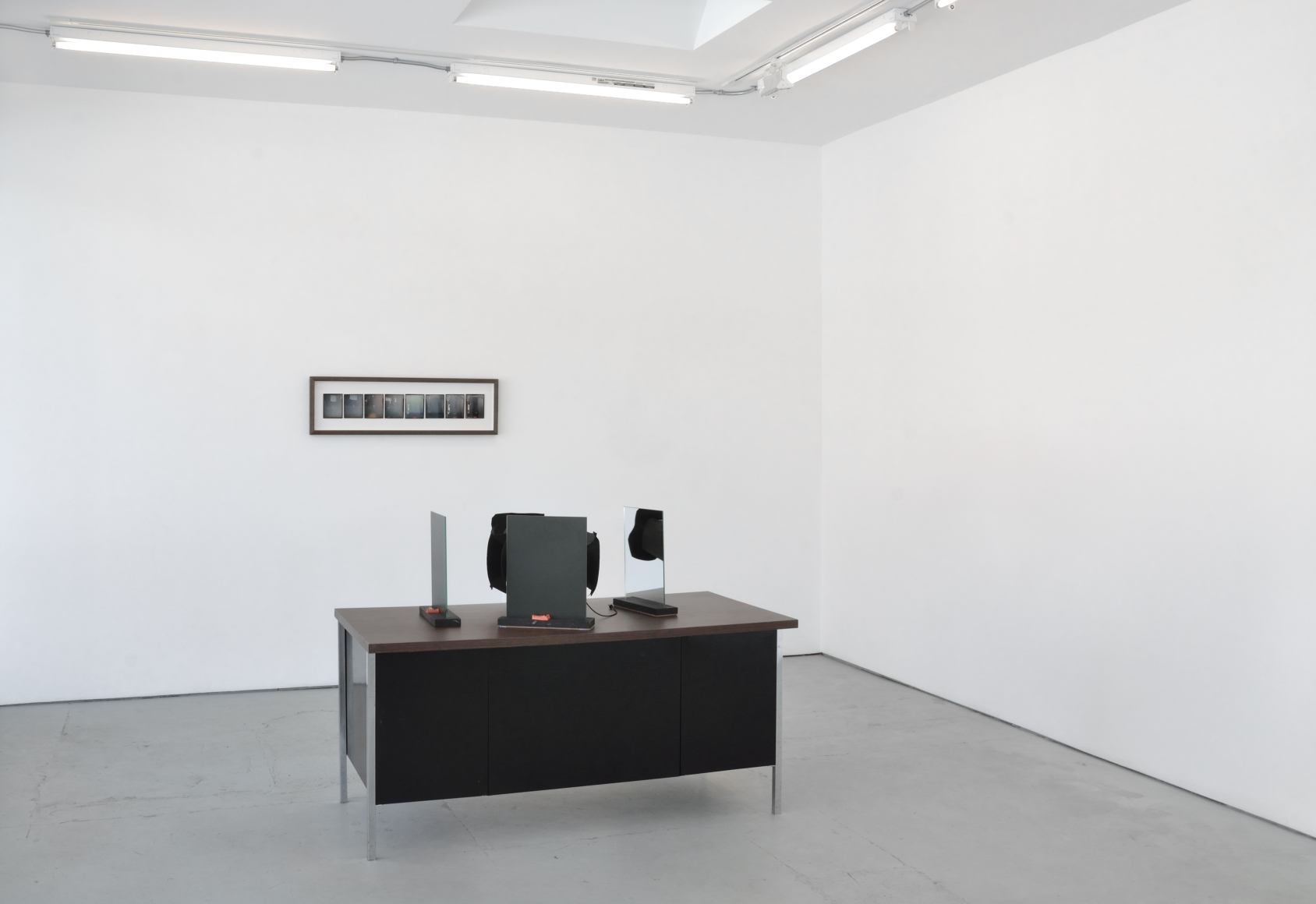 Installation view audience ≒ one