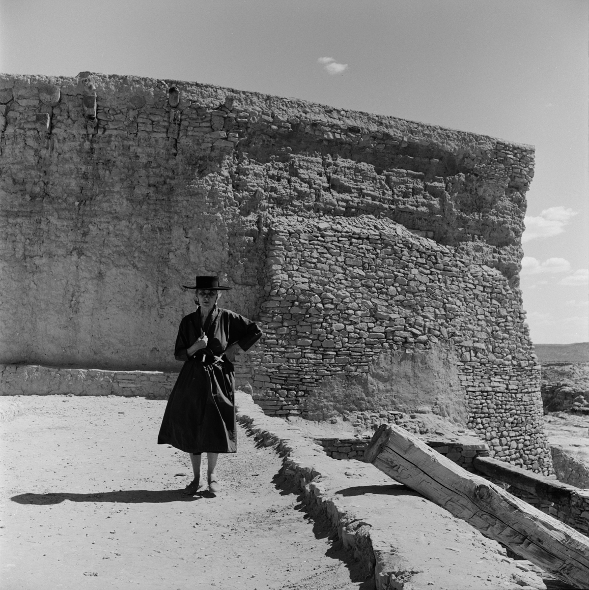 O'Keeffe at Acoma Pueblo, New Mexico, 1957 Todd Webb