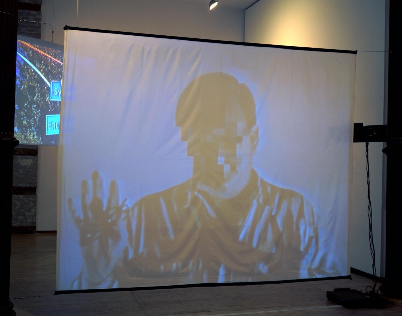 The Poetics Project: 1977-1997, Barcelona Version Installation at Lehmann Maupin, Richard Meier Model view 4