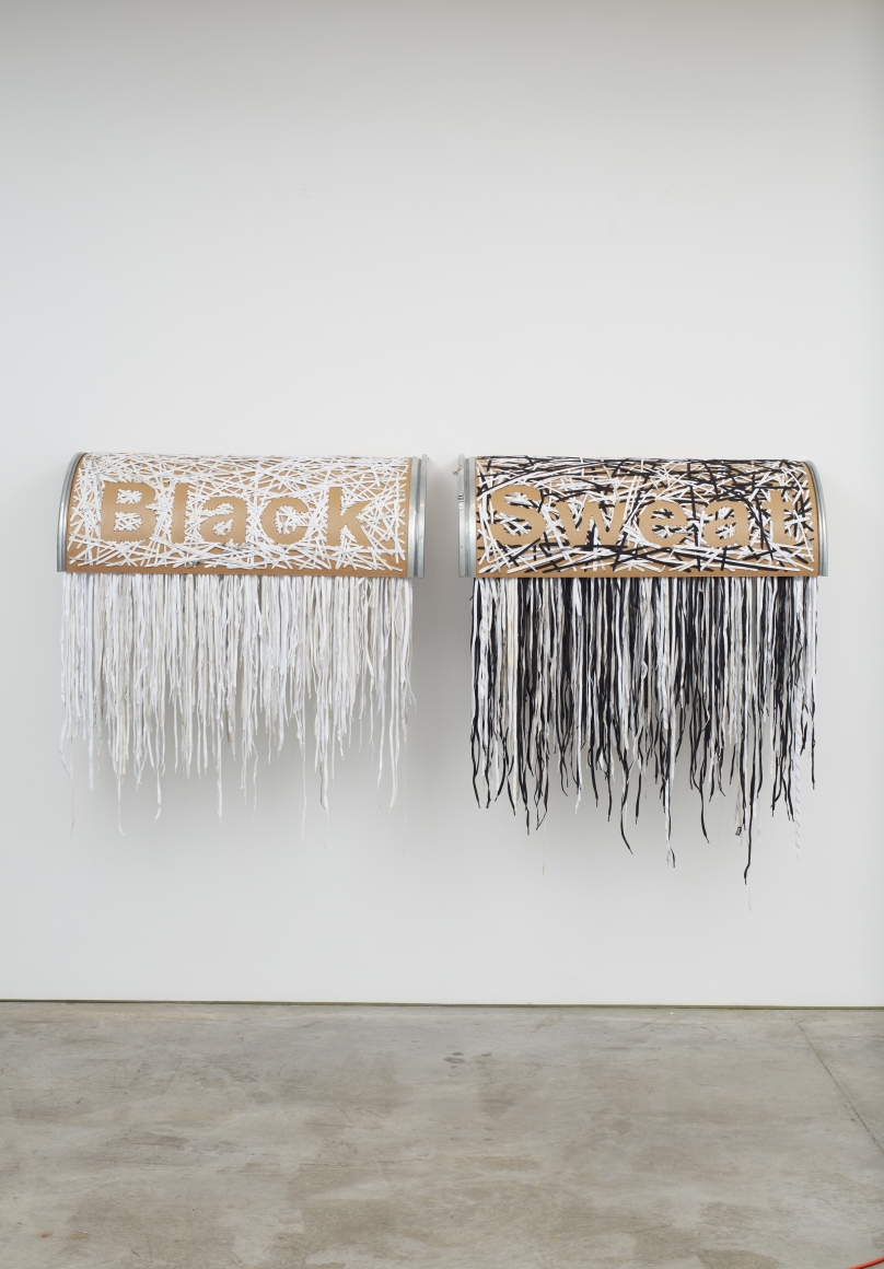 NARI WARD, Black Sweat, 2019