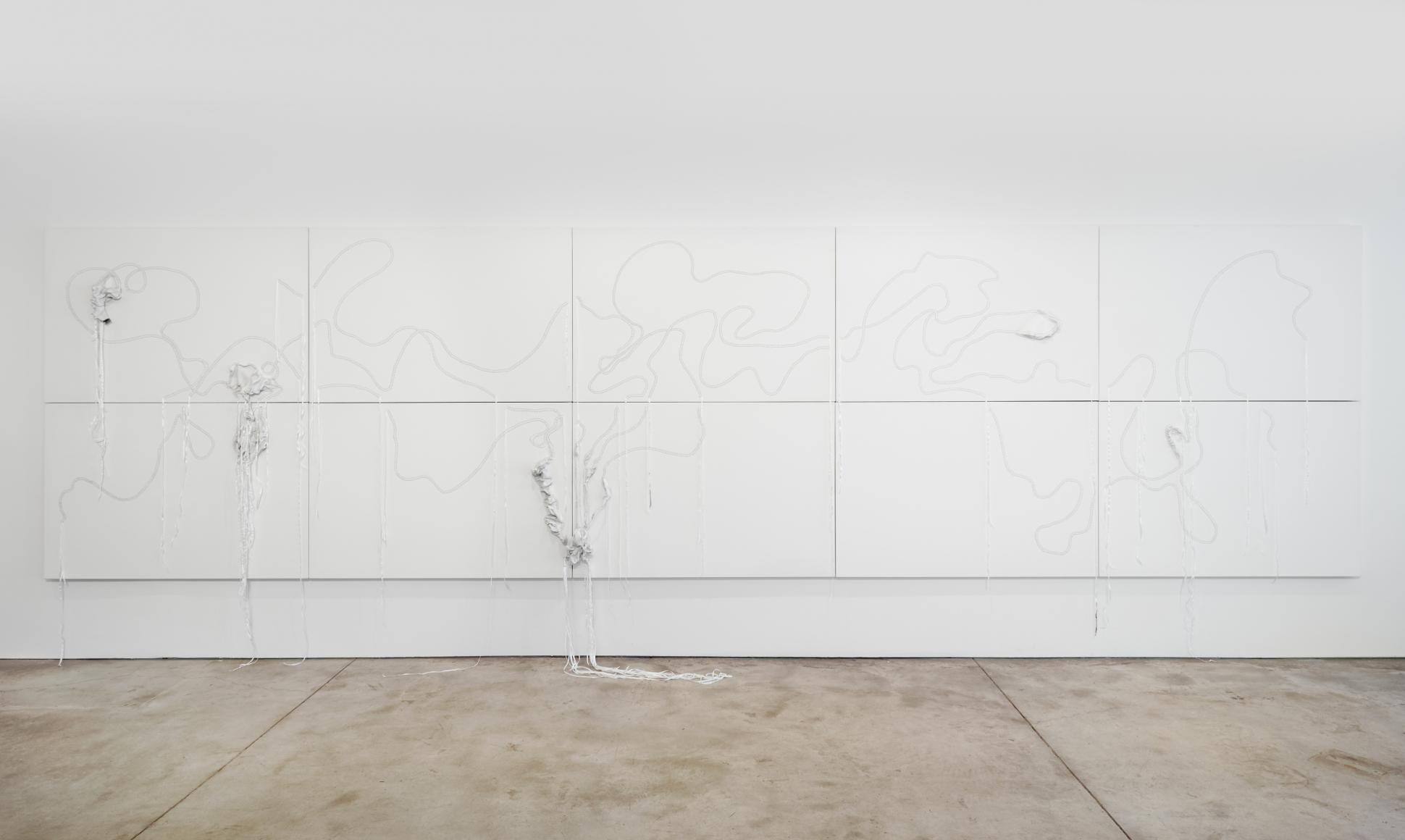 Nicholas Hlobo, Ulwamkelo installation view 2