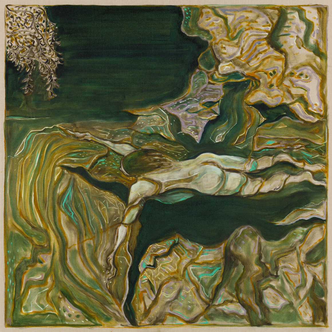 BILLY CHILDISH, yuba river, 2019