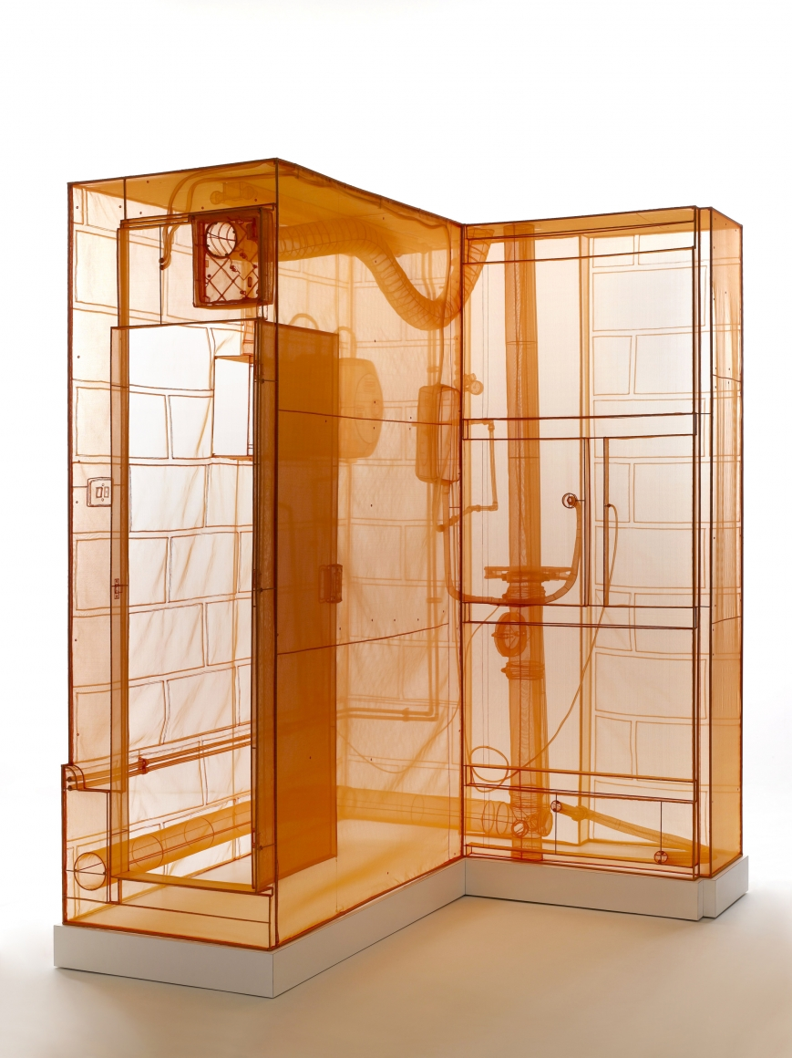 DO HO SUH, Boiler Room, London Studio, 2015