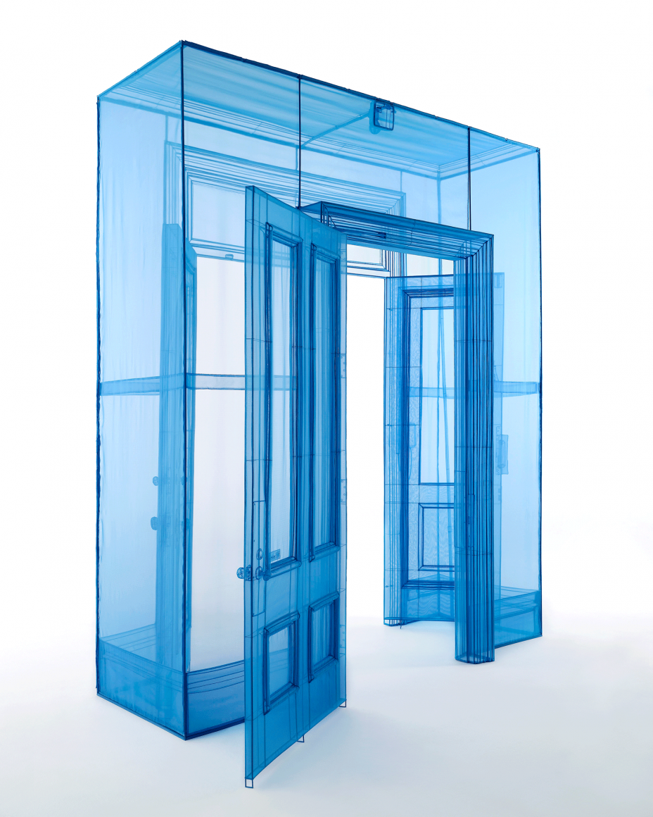 DO HO SUH, Main Entrance, 388 Benefit Street, Providence, RI 02903, USA, 2016