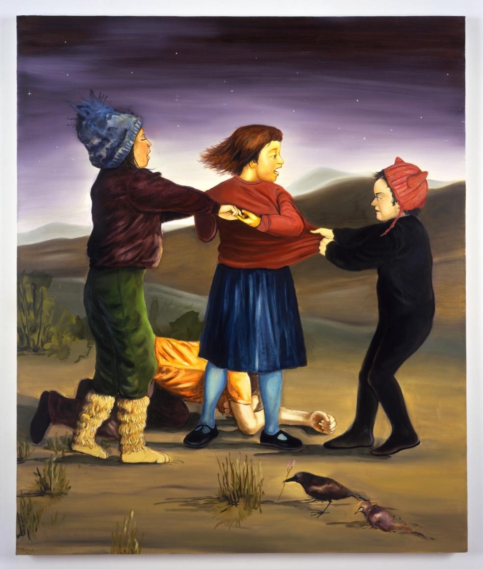 CHRISTIAN CURIEL, Untitled (Struggle), 2006