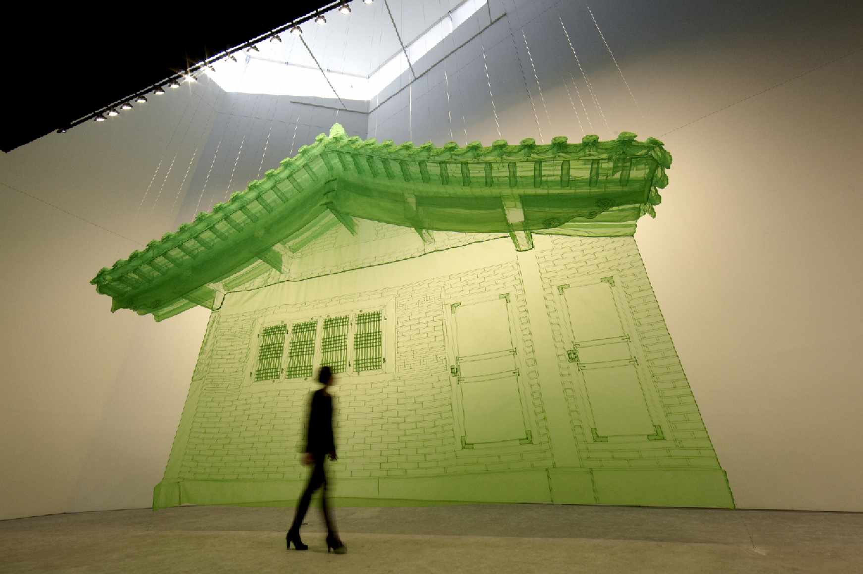 DO HO SUH, North Wall, 2005