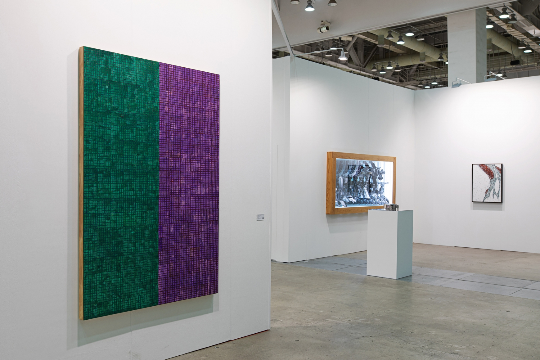 Fifth installation view of Lehmann Maupin's booth at Art Busan & design 2020