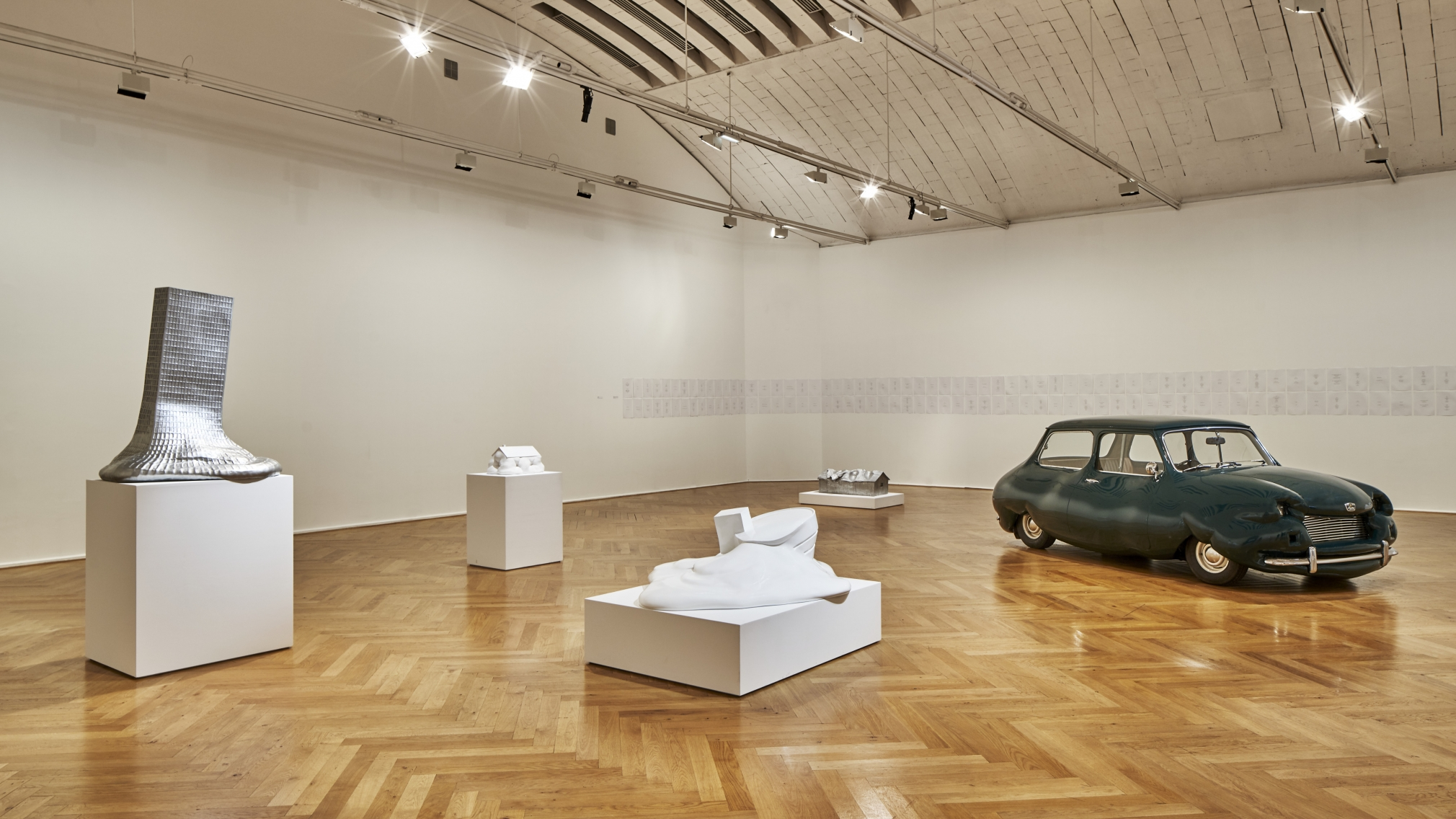 ERWIN WURM, Installation view