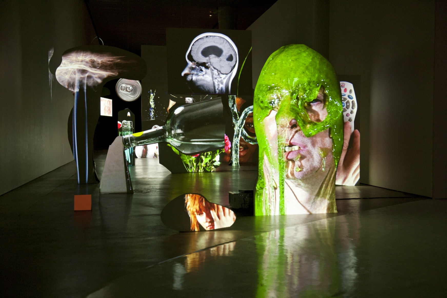 TONY OURSLER, Face to Face