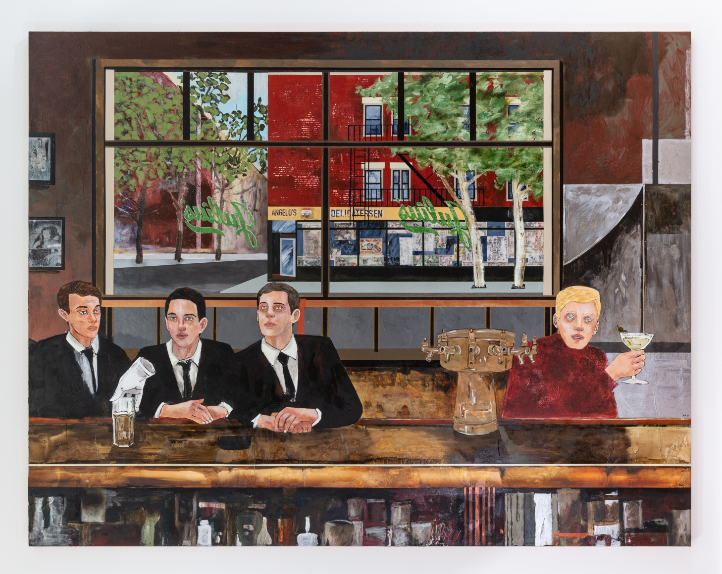 HERNAN BAS, The Sip In, 2019