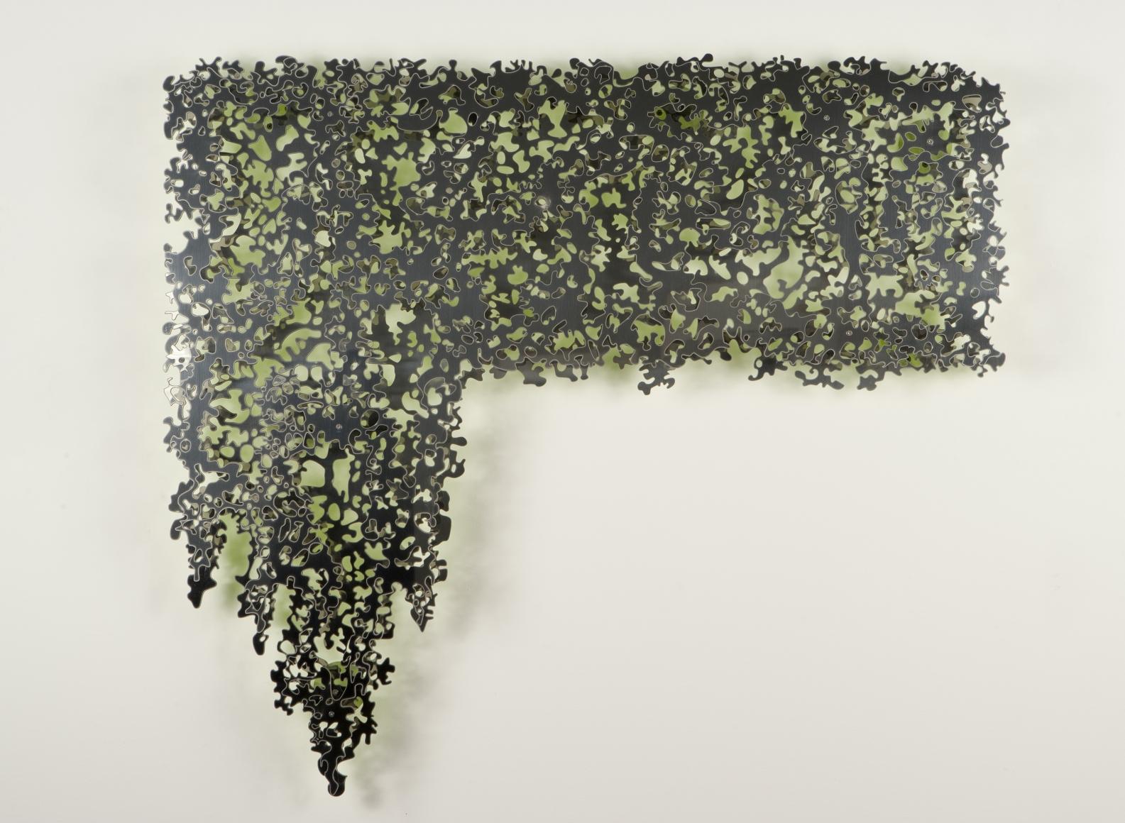 TERESITA FERNÁNDEZ, Mirror (Trellis), 2010