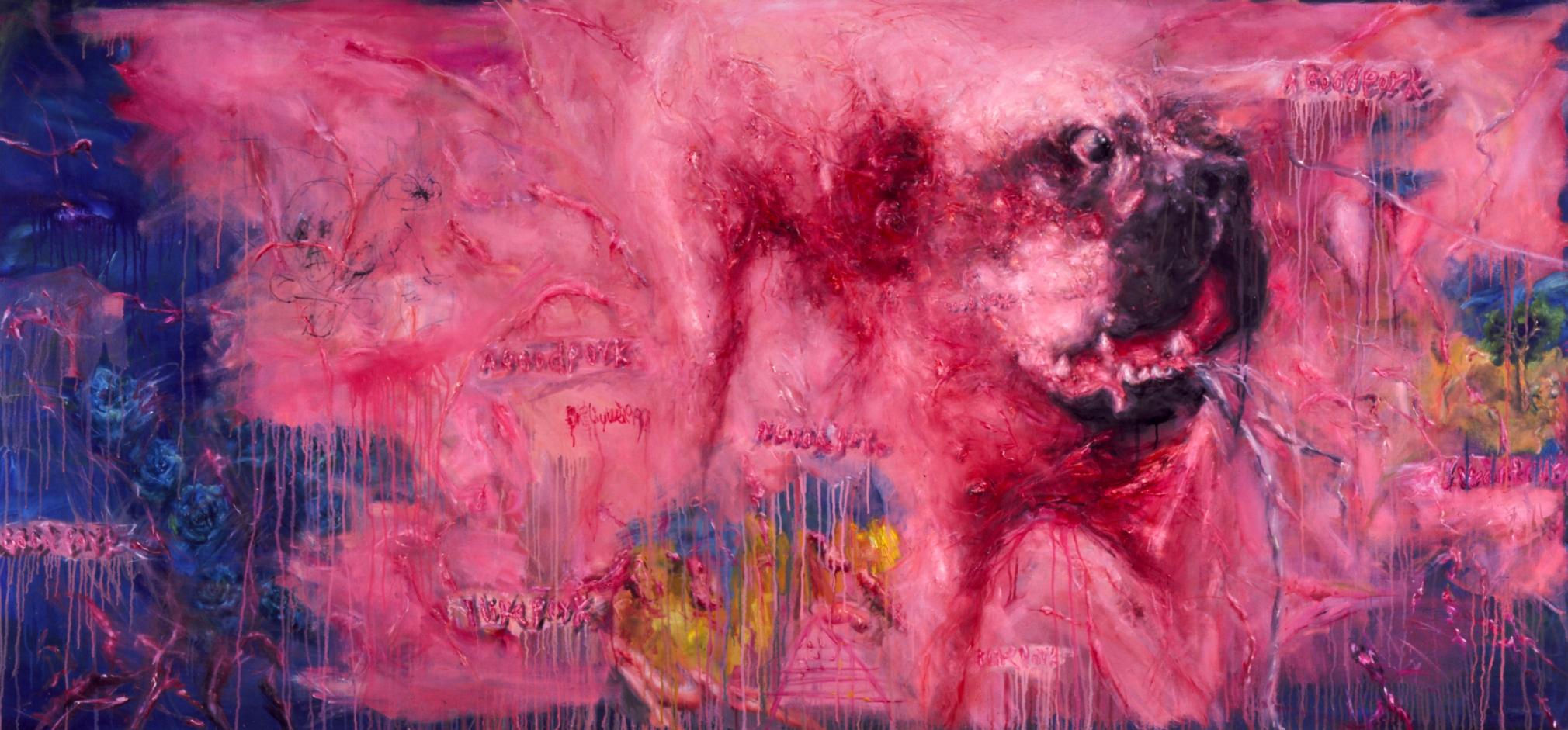 LIU WEI Dog, 1997