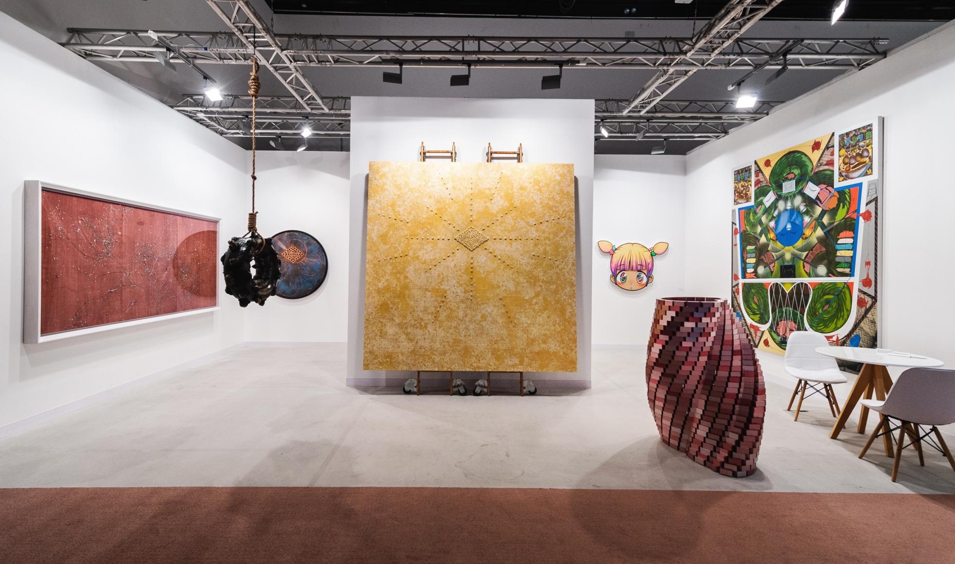 Installation view, Abu Dhabi Art Fair 2019
