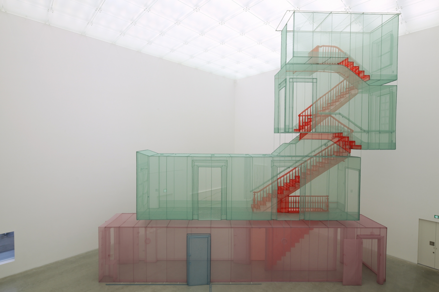 DO HO SUH, 348 West 22nd Street, Apt. A, Corridor and Staircase, New York NY 10011, USA,2011-2015