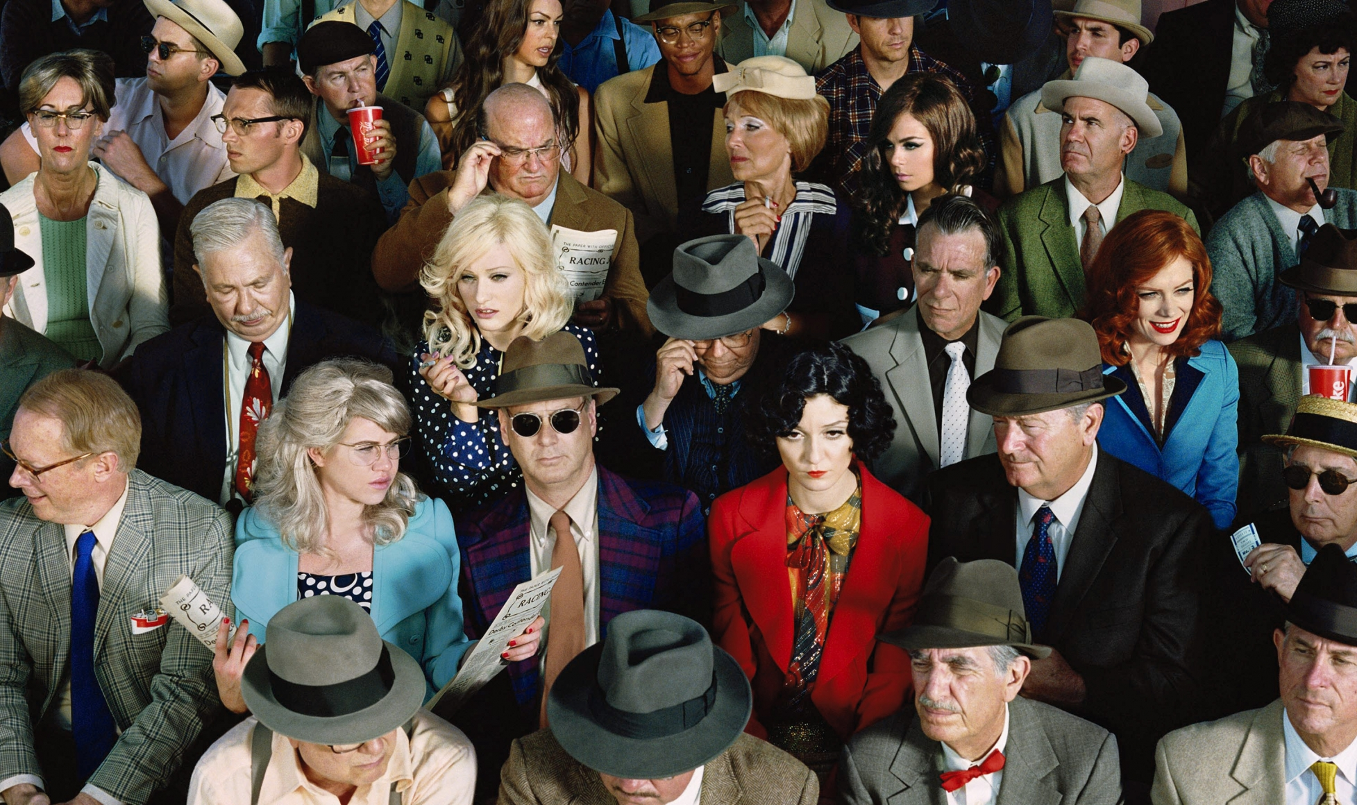 ALEX PRAGER, Crowd #1 (Stan Douglas), 2010