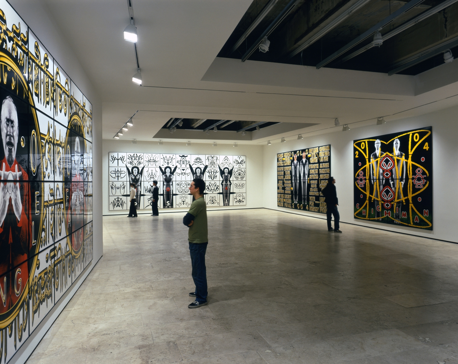 GILBERT & GEORGE Perversive Pictures Installation View 1.