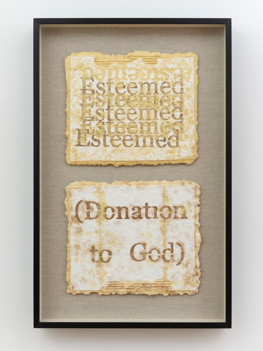 NARI WARD, Esteemed; (Donation to God), 2018–2019