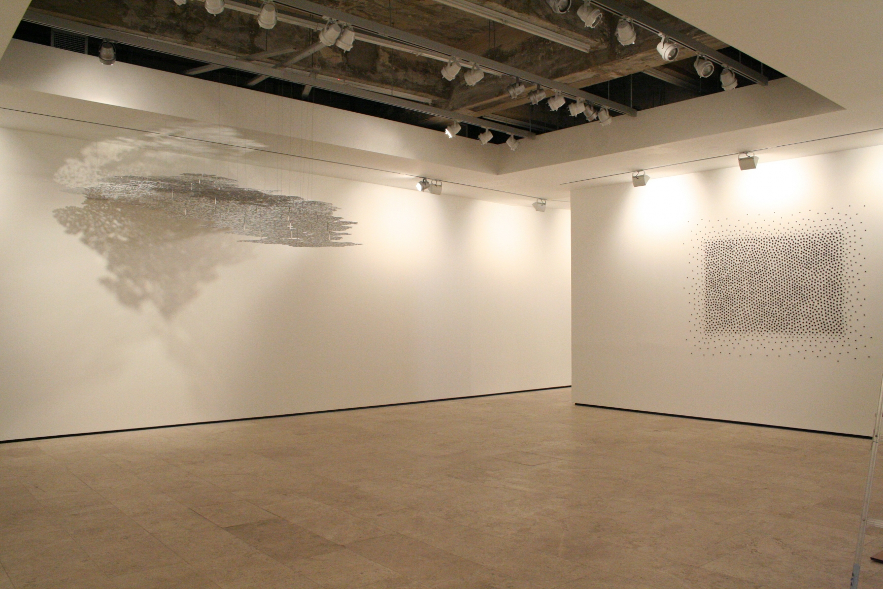 View 4 of TERESITA FERNANDEZ Installation at Lehmann Maupin Gallery.