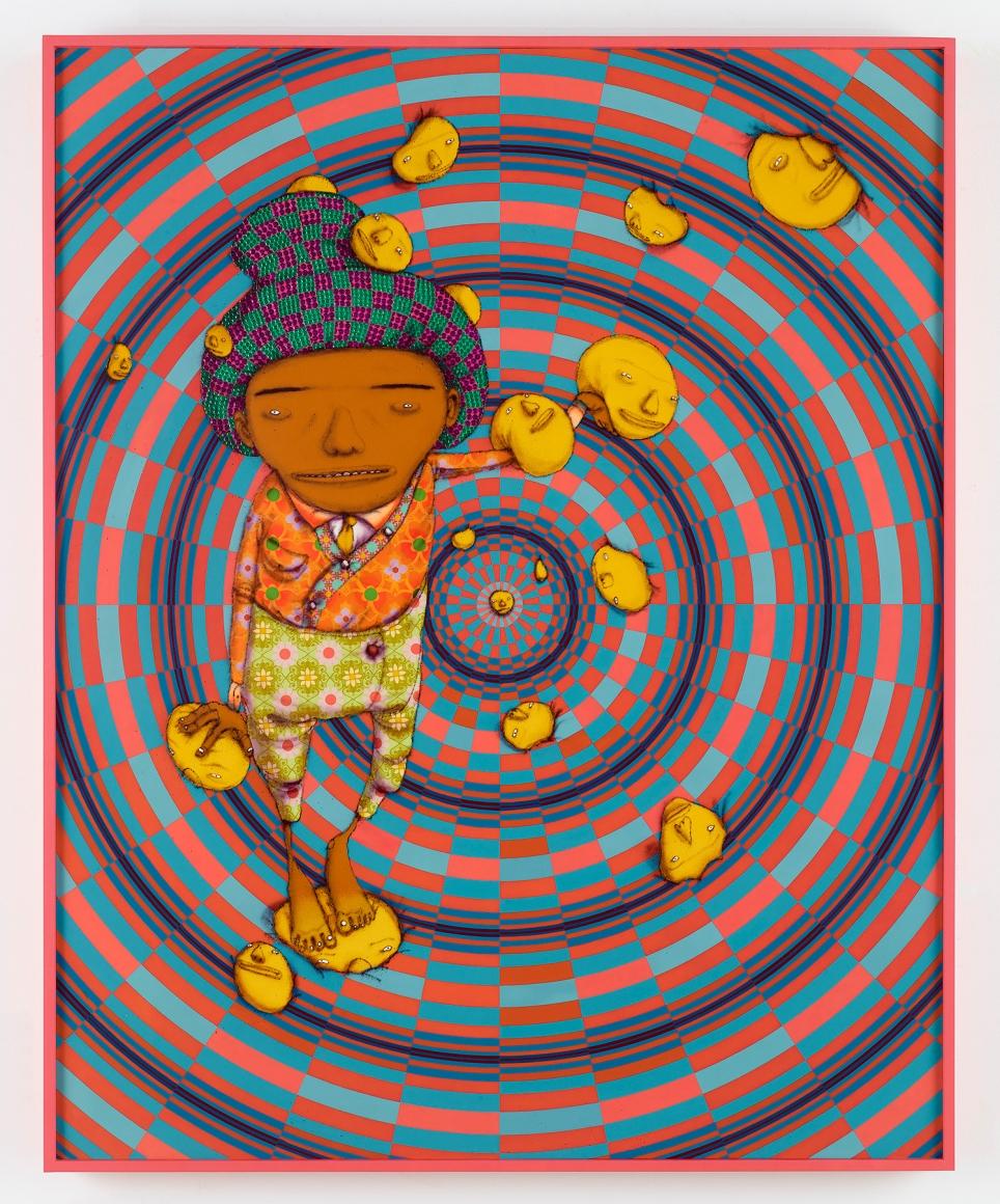 OSGEMEOS, O Sonho Feliz (The Happy Dream), 2016