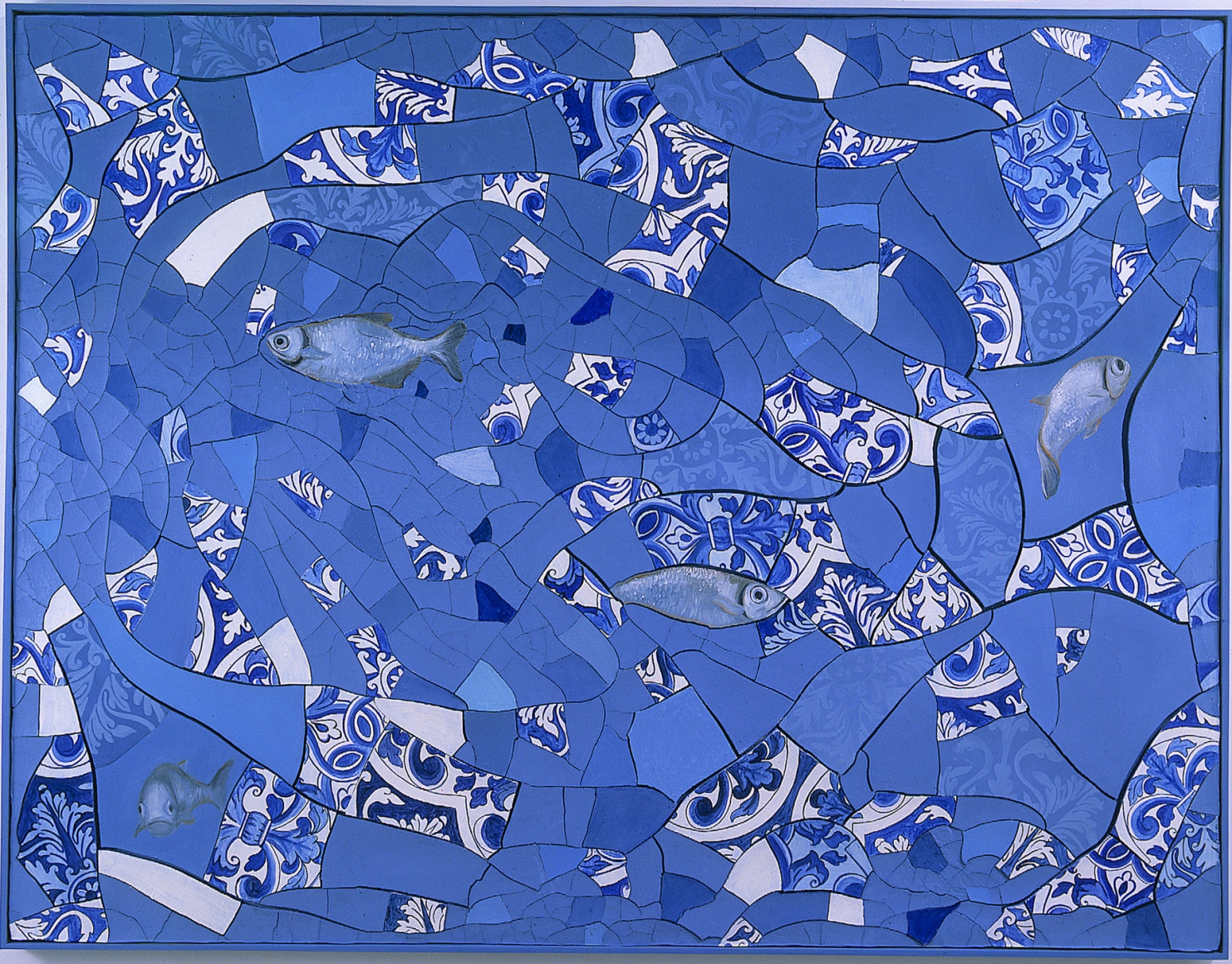 ADRIANA VAREJÃO, Cacos e Peixes (Fragments and Fish), 1999