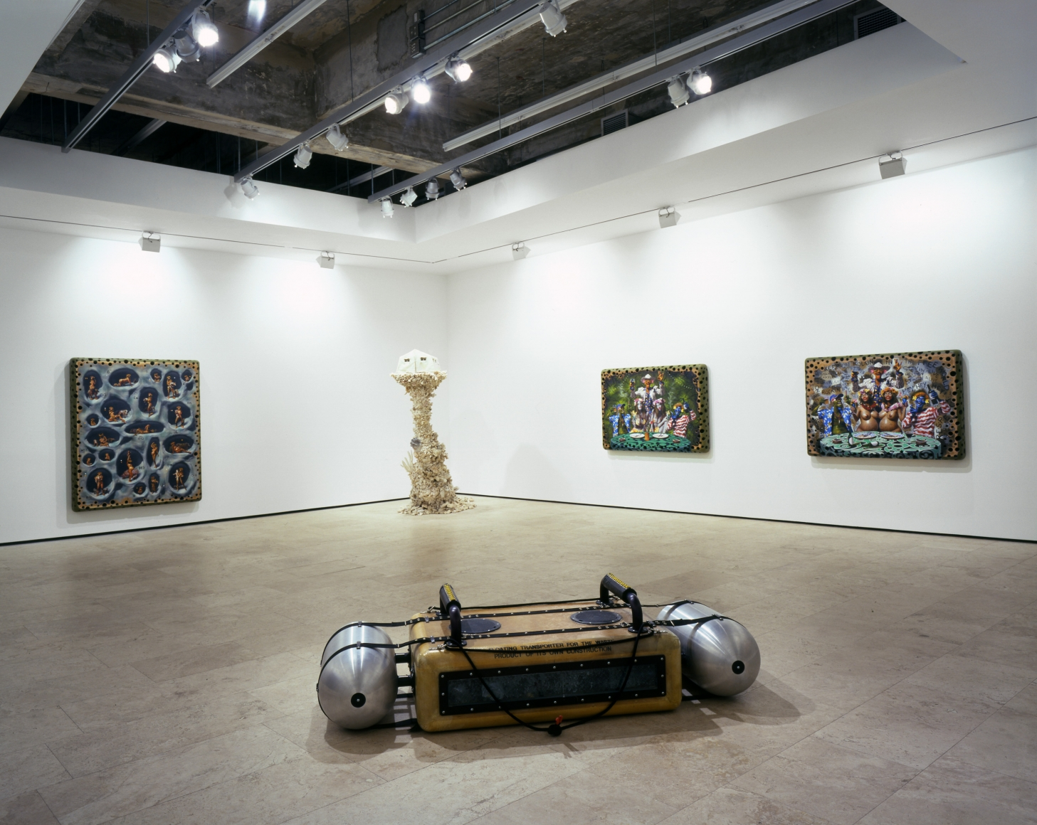 ASHLEY BICKERTON Installation view