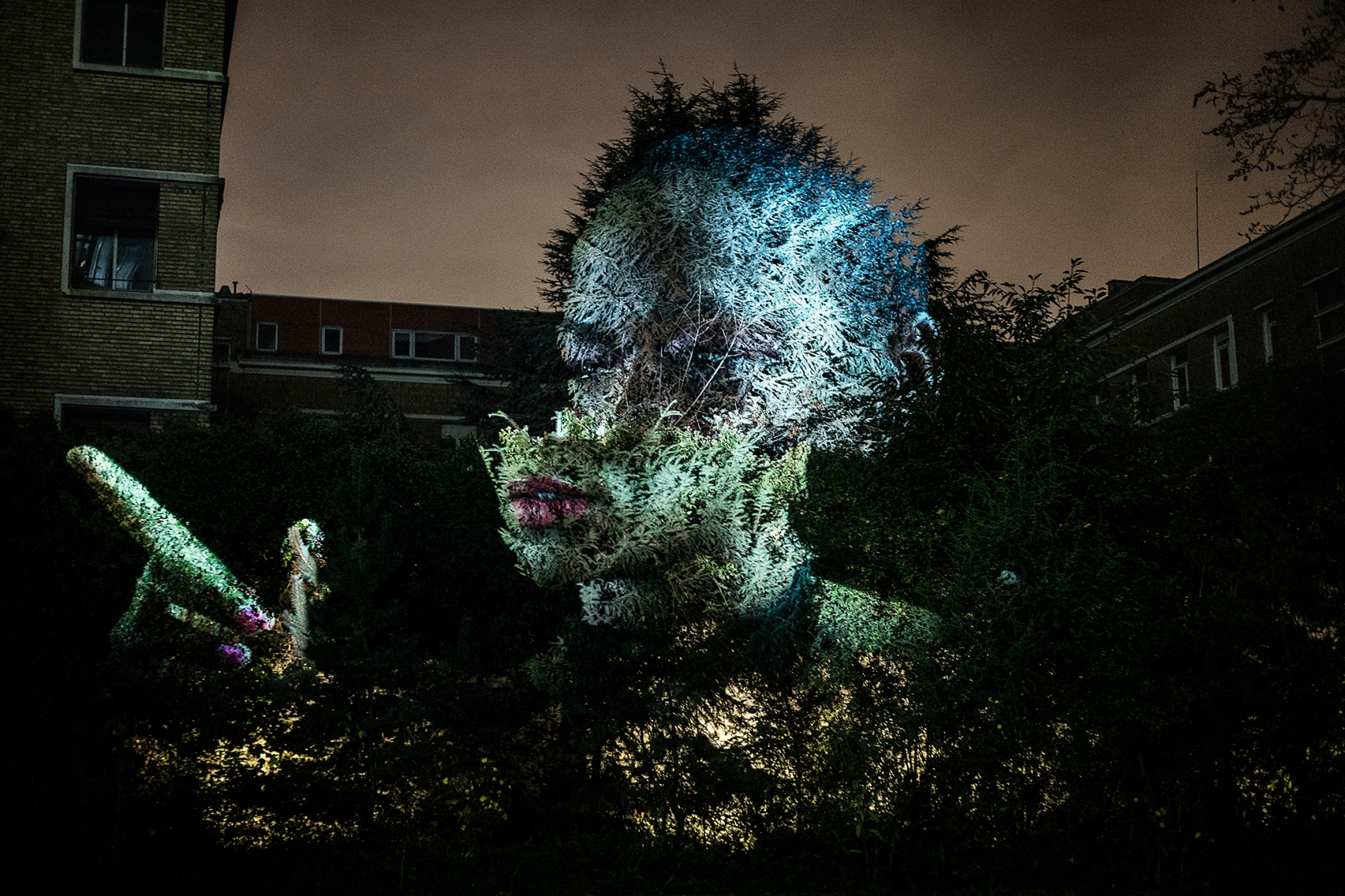 Tony Oursler: Eclipse, Fondation Cartier, Paris