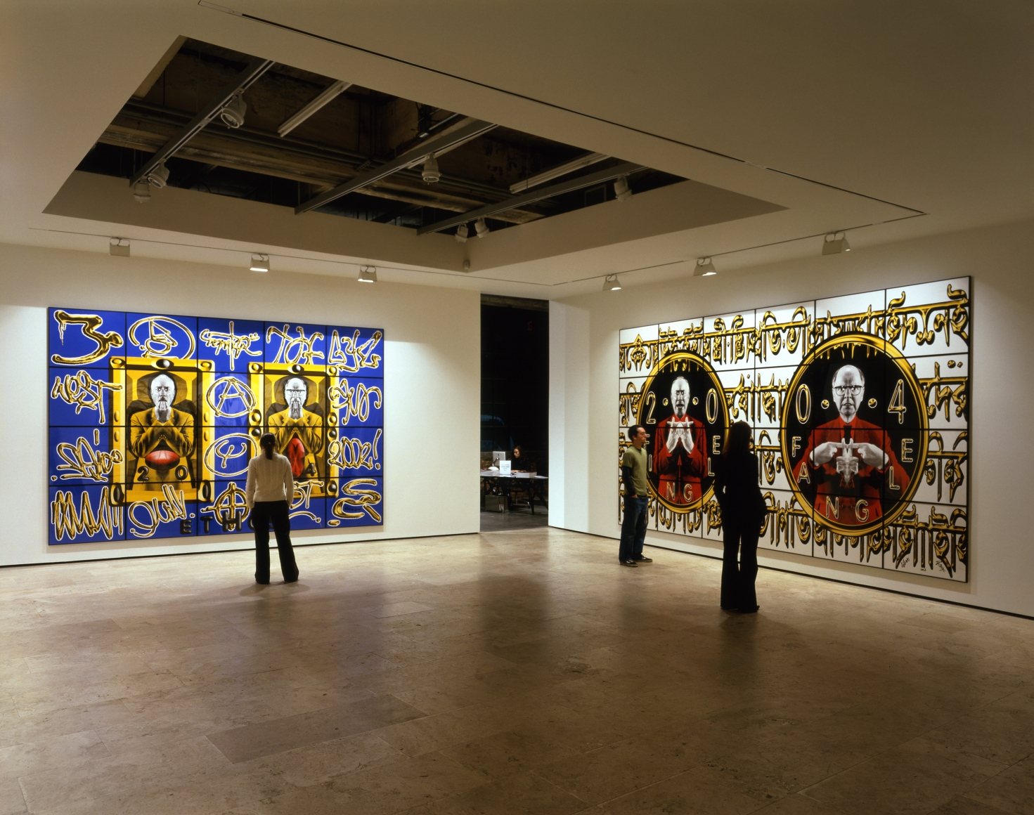 GILBERT & GEORGE Perversive Pictures Installation View 3.