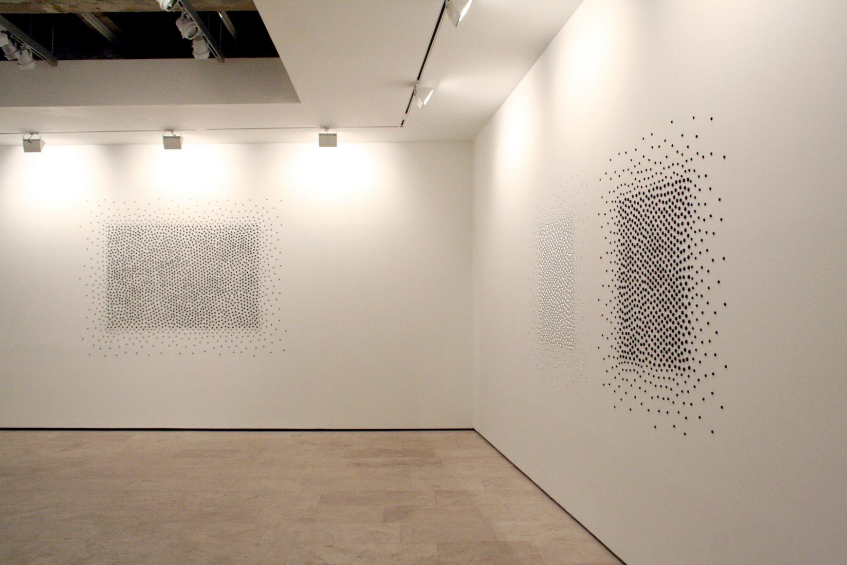 View 1 of TERESITA FERNANDEZ Installation at Lehmann Maupin Gallery.