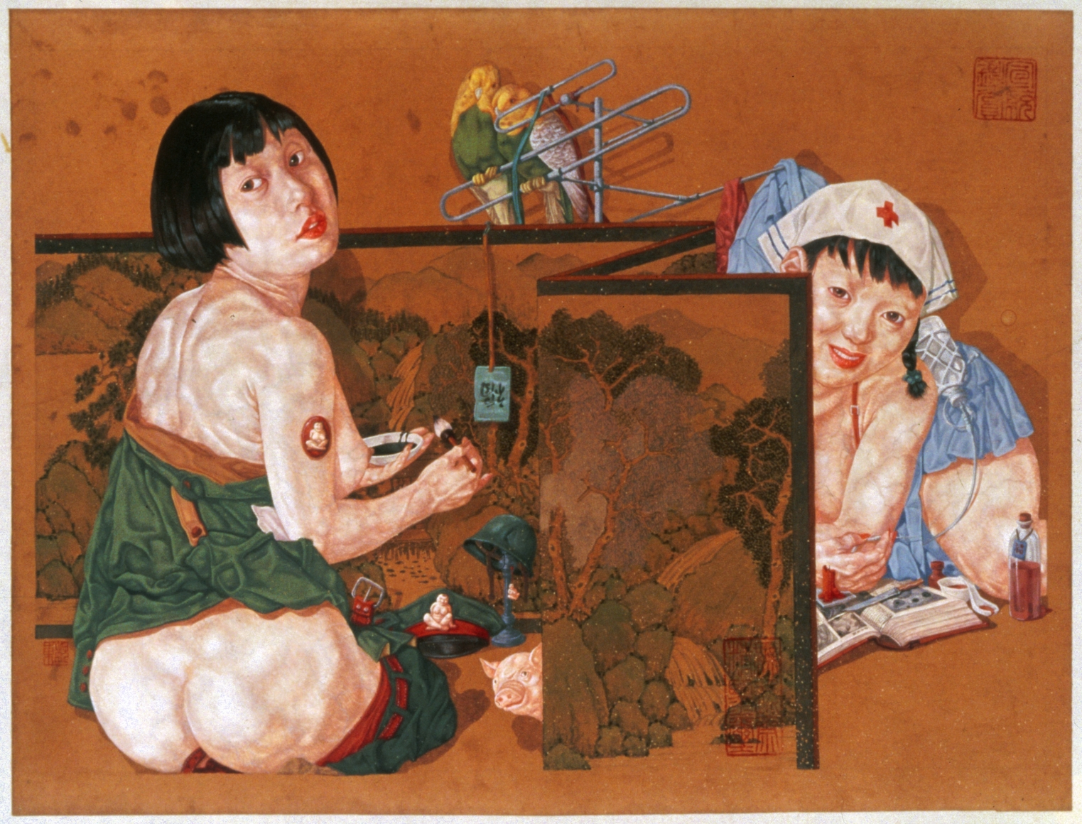 WEI DONG Distancing -- Blessing, 1997