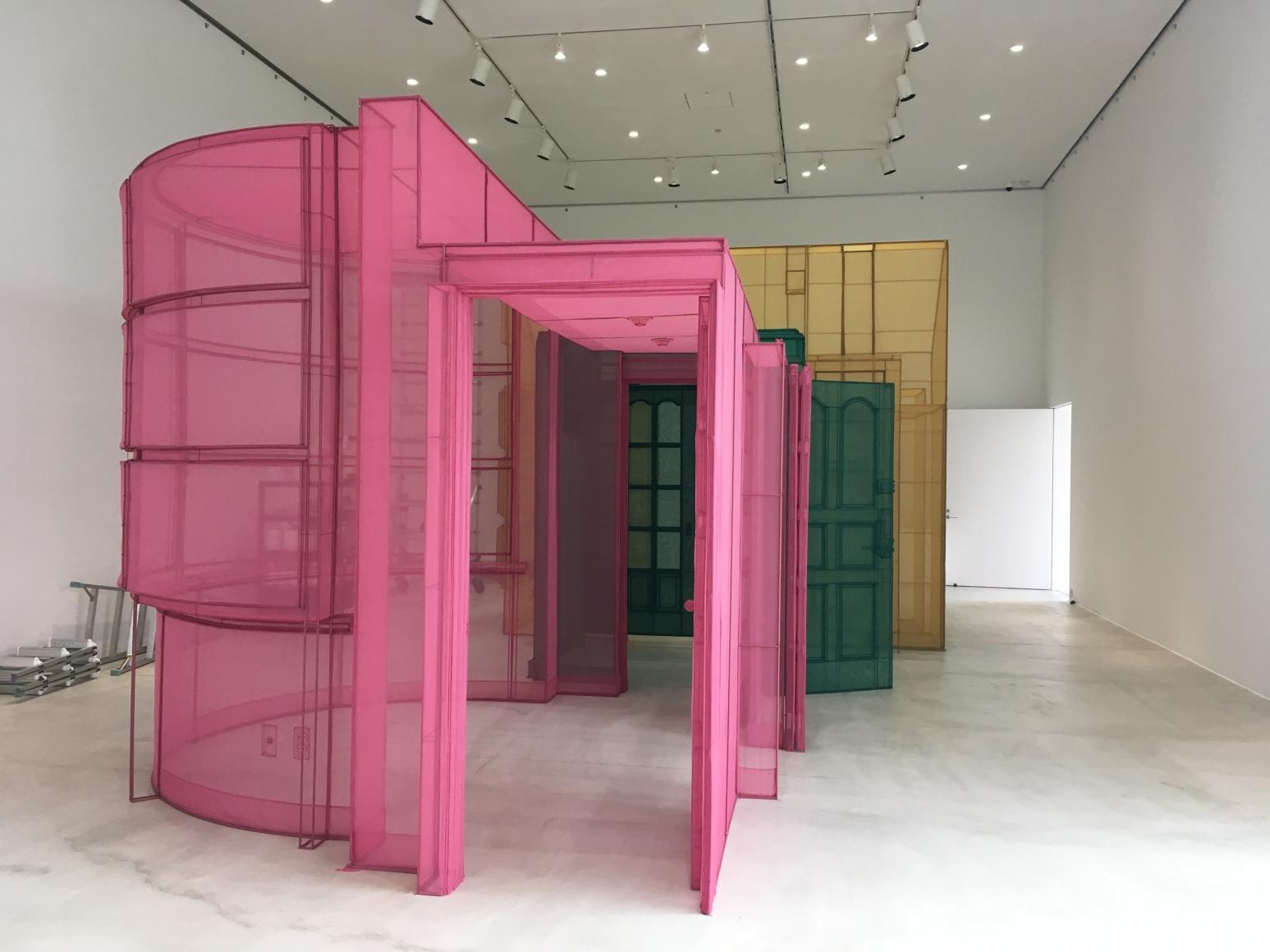 Do Ho Suh:Passage/s, Installation view, Towada Art Center, Towada, Japan.