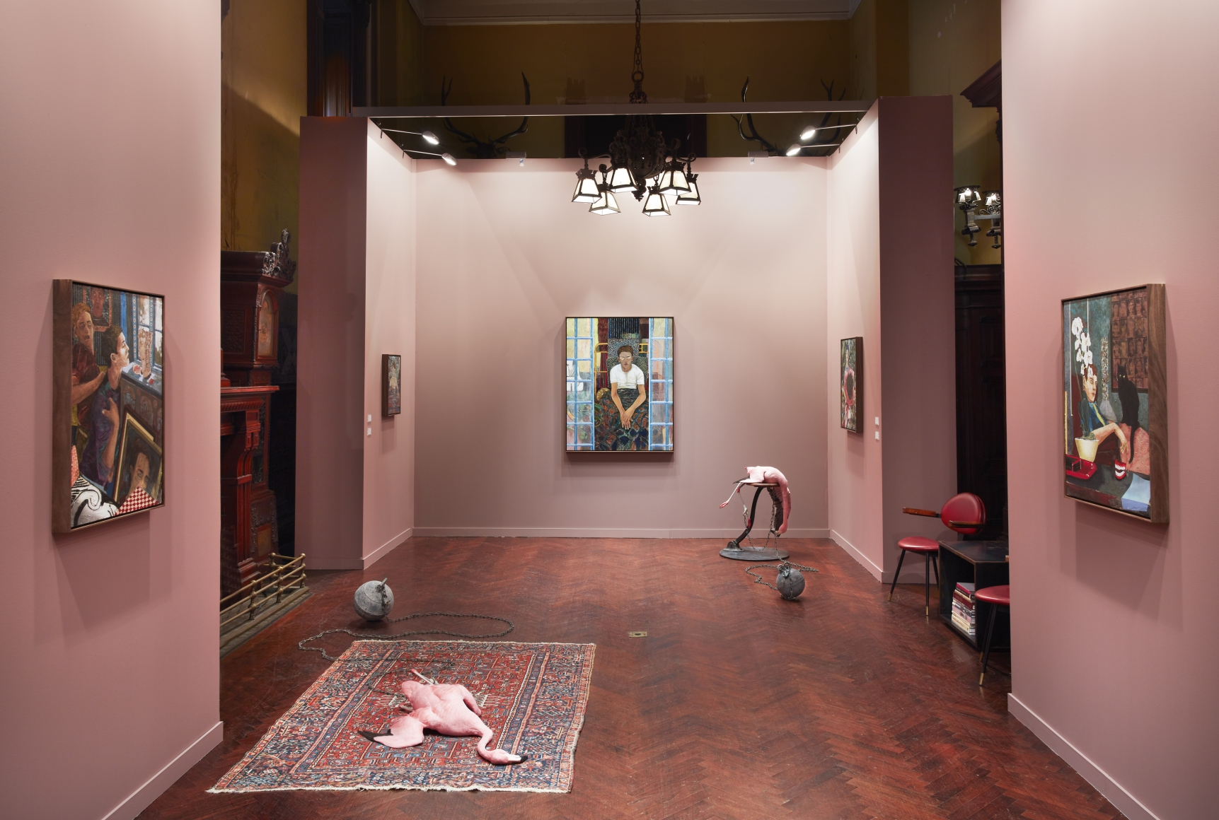TEFAF New York Spring , Installation view, Park Avenue Armory, New York, 2019