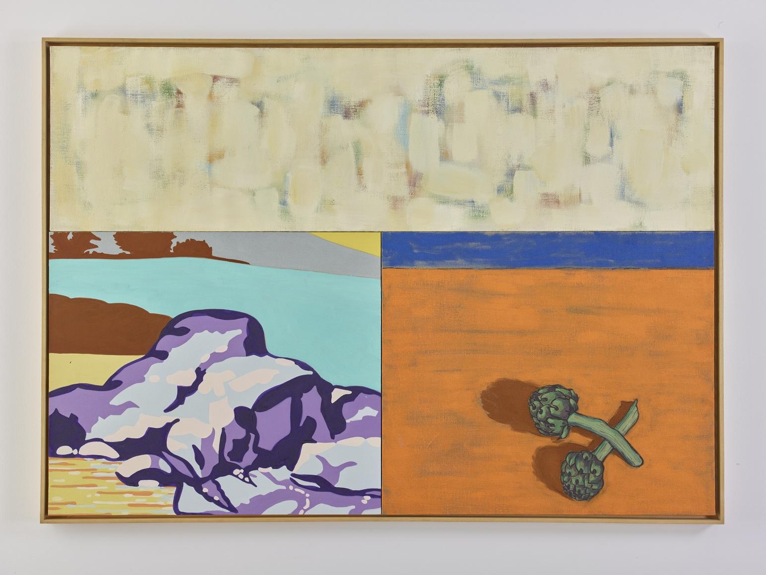 DAVID SALLE Endives, 2000