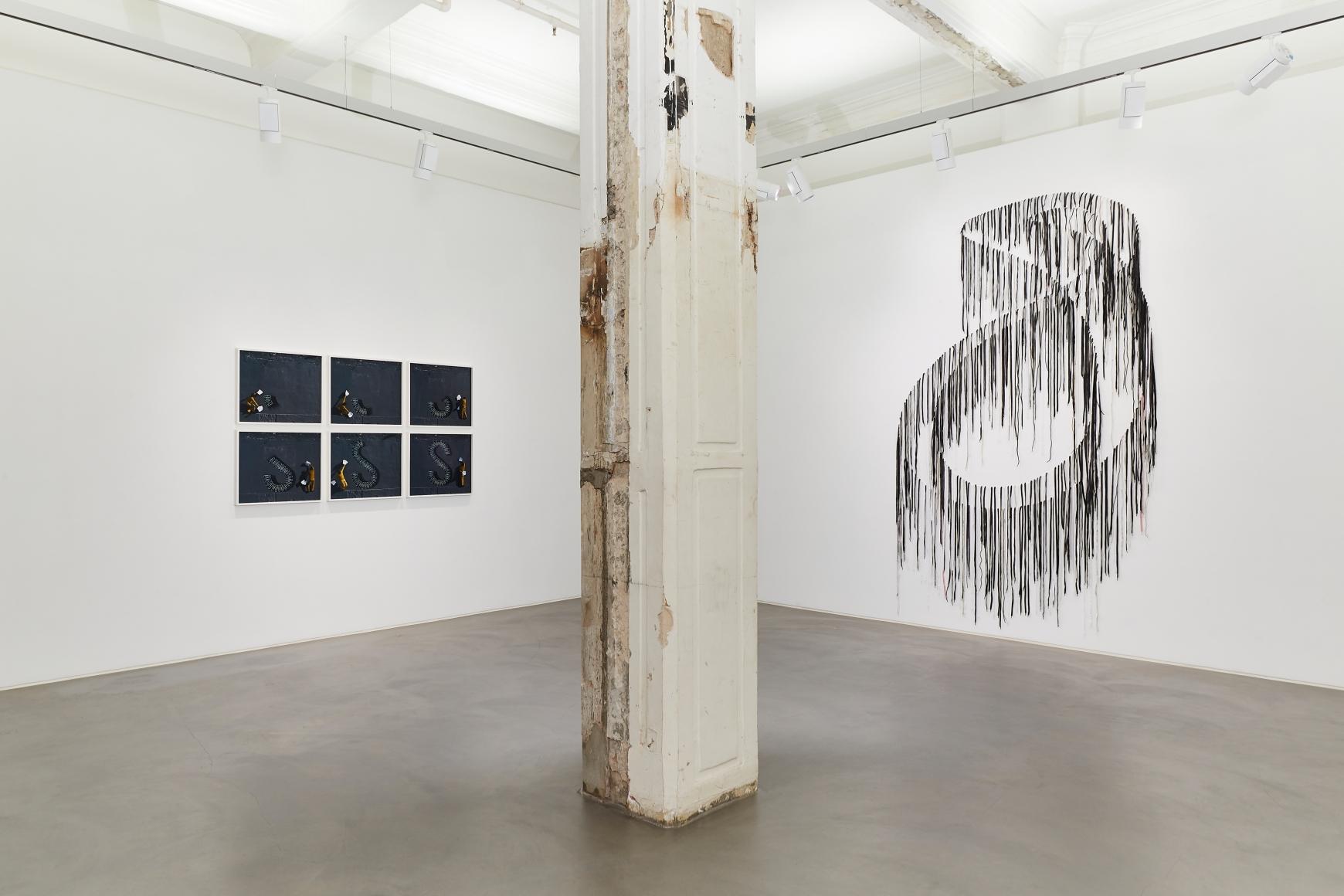 Exhibition view 4 of Robin Rhode & Nari Ward: Power Wall