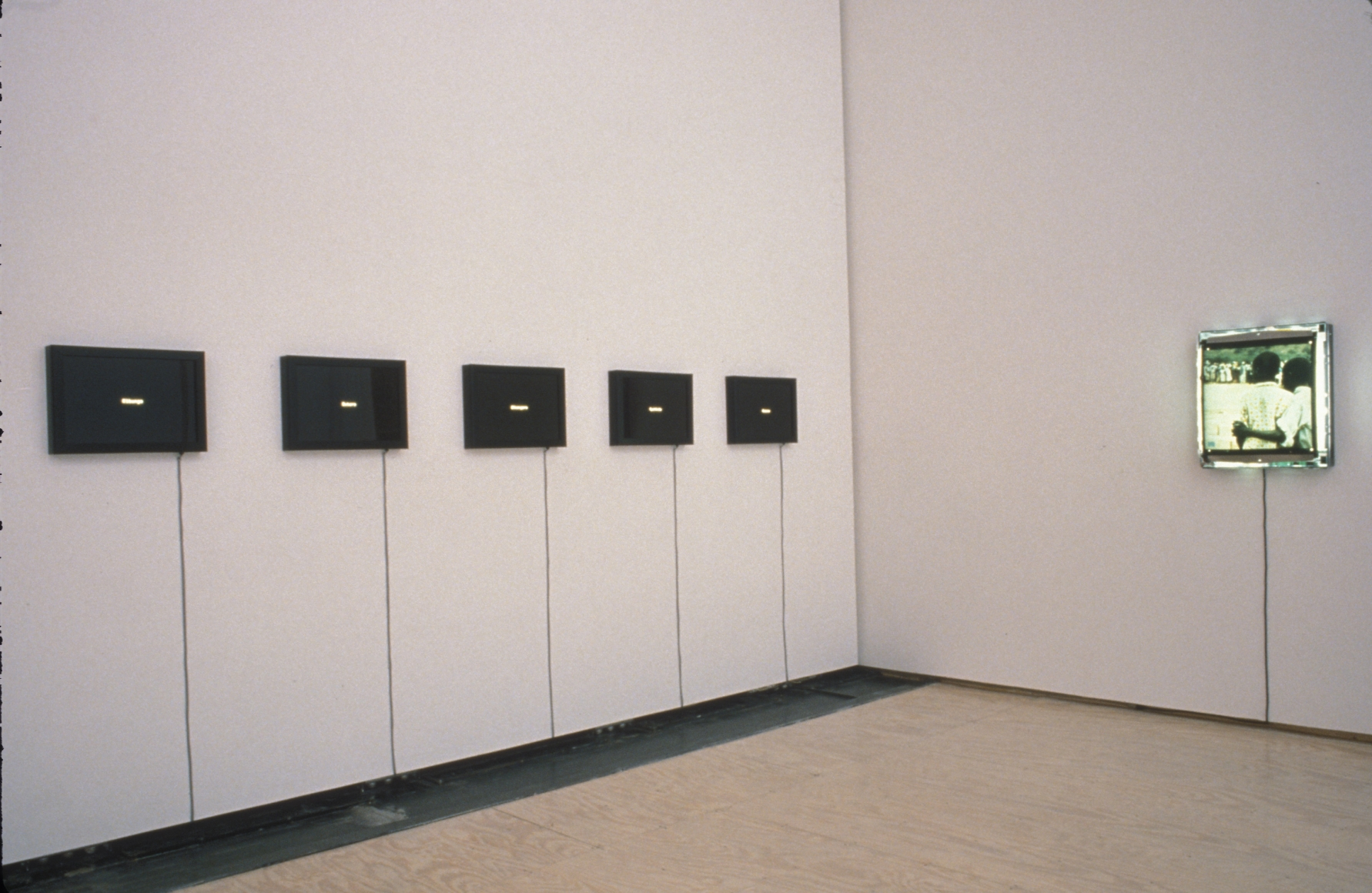 THE CRYSTAL STOPPER Curated by Carlos Basualdo installation view 2