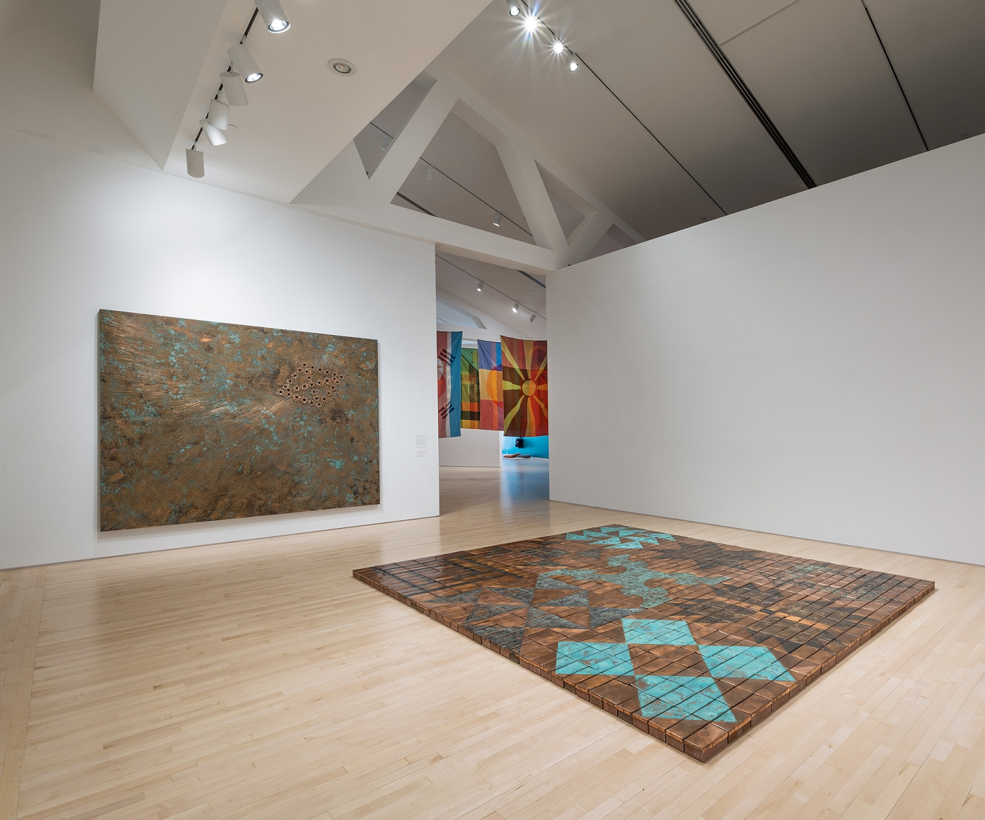 Installation view Worlds Otherwise Hidden,Kemper Museum of Contemporary Art, Worlds Otherwise Hidden, May 17-September 2, 2018.