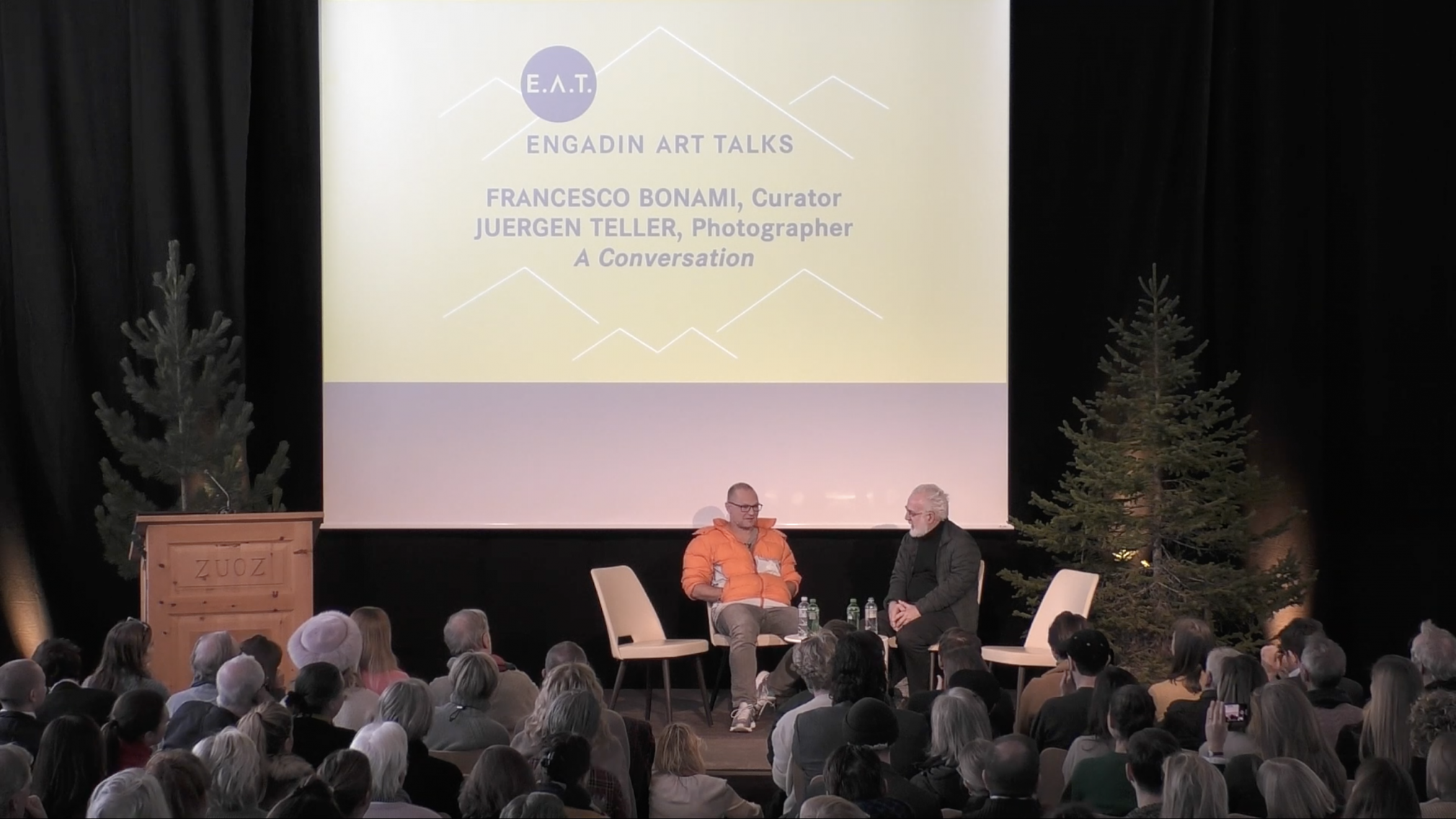 Juergen Teller in Conversation with Francesco Bonami, Engadin Art Talks: Grace & Gravity