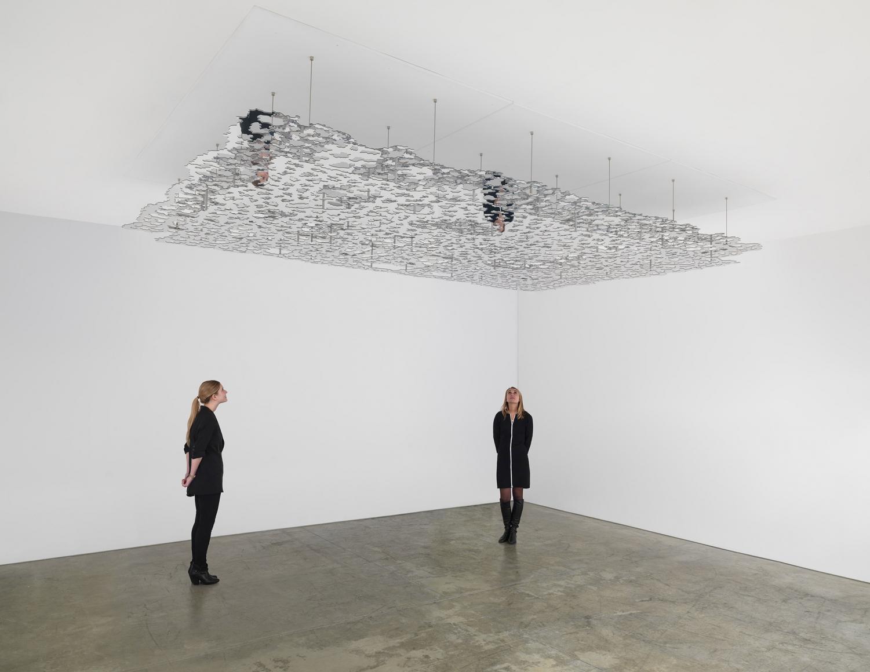 TERESITA FERNÁNDEZ, Untitled (Silver), 2016